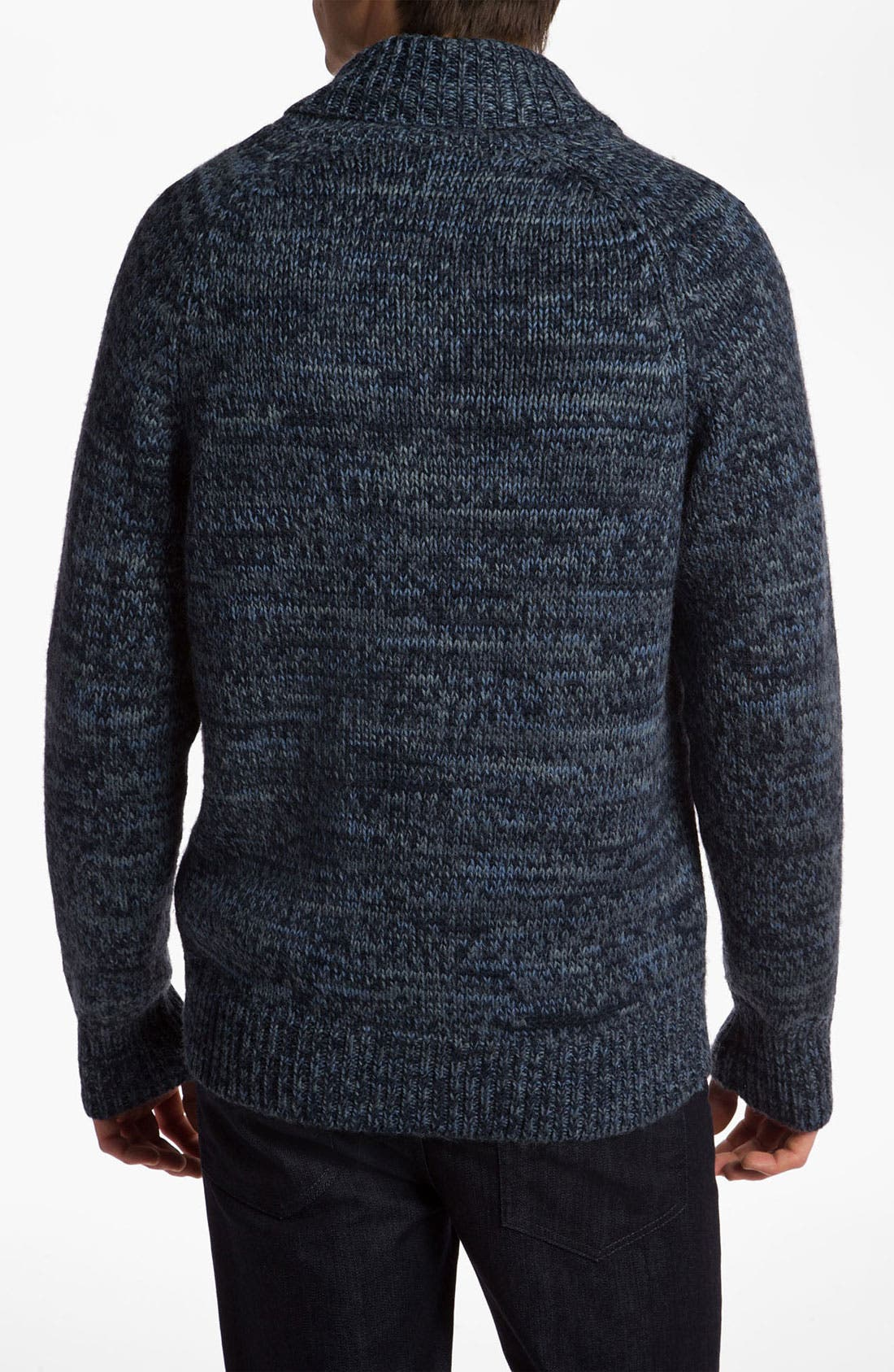 Alternate Image 2  - VSTR 'Captains' Wool Blend Zip Cardigan