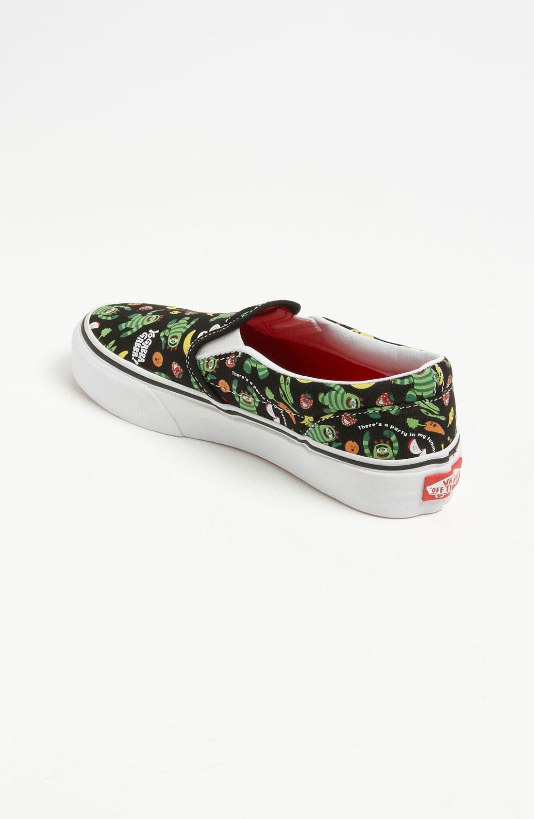 Alternate Image 2  - Vans 'Classic - Yo Gabba Gabba!™' Slip-On Sneaker (Toddler, Little Kid & Big Kid)