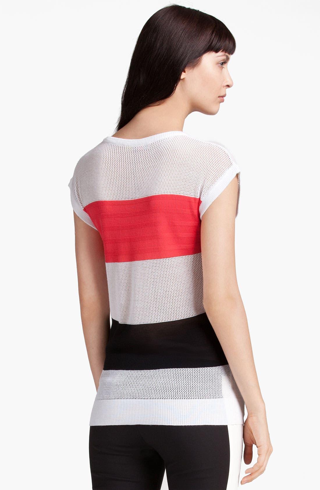 Alternate Image 2  - MSGM Colorblock Stripe Sweater