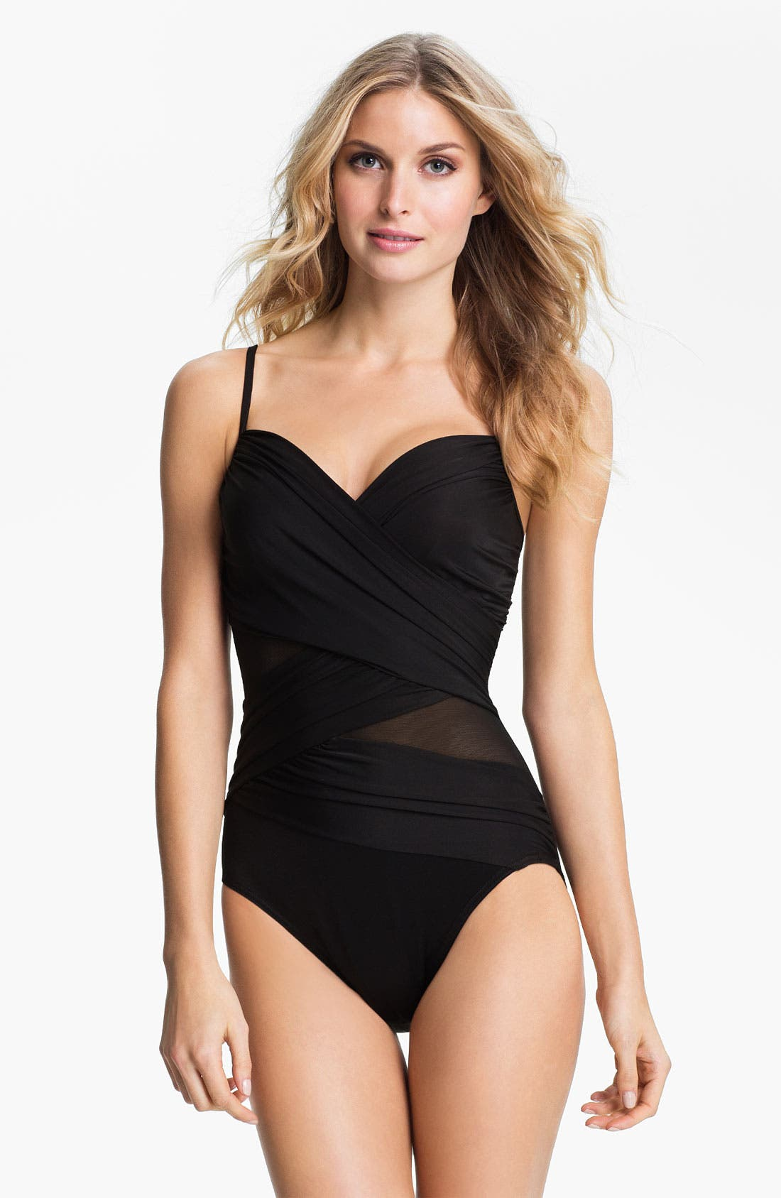 Alternate Image 1 Selected - Miraclesuit® 'Curve Appeal Mystify' Tank Swimsuit