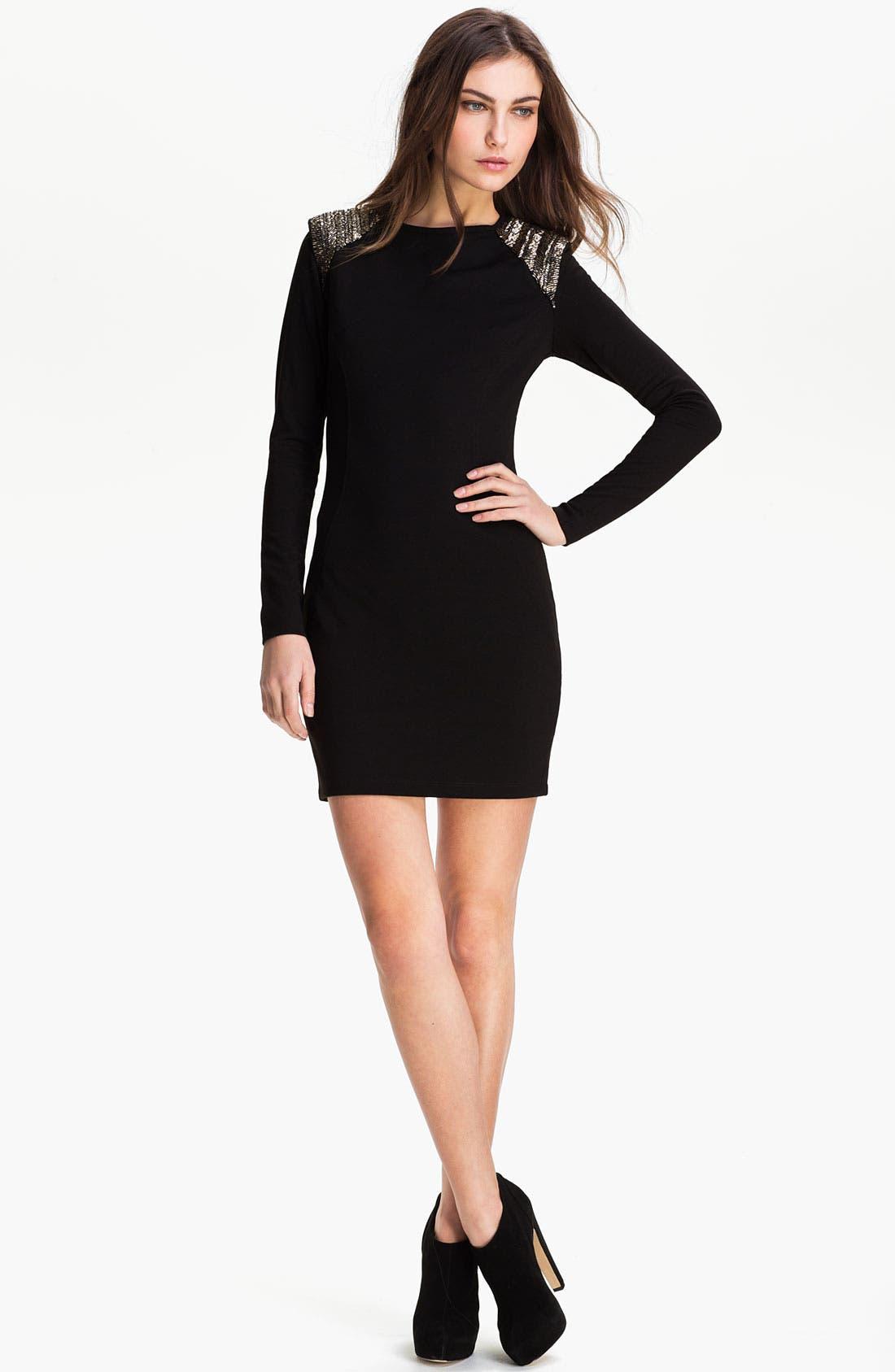 Alternate Image 1 Selected - Ted Baker London Embellished Shift Dress