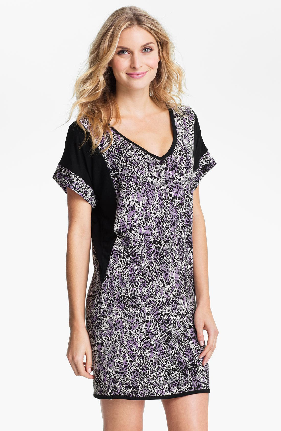 Alternate Image 1 Selected - DKNY Short Sleeve Sleep Shirt