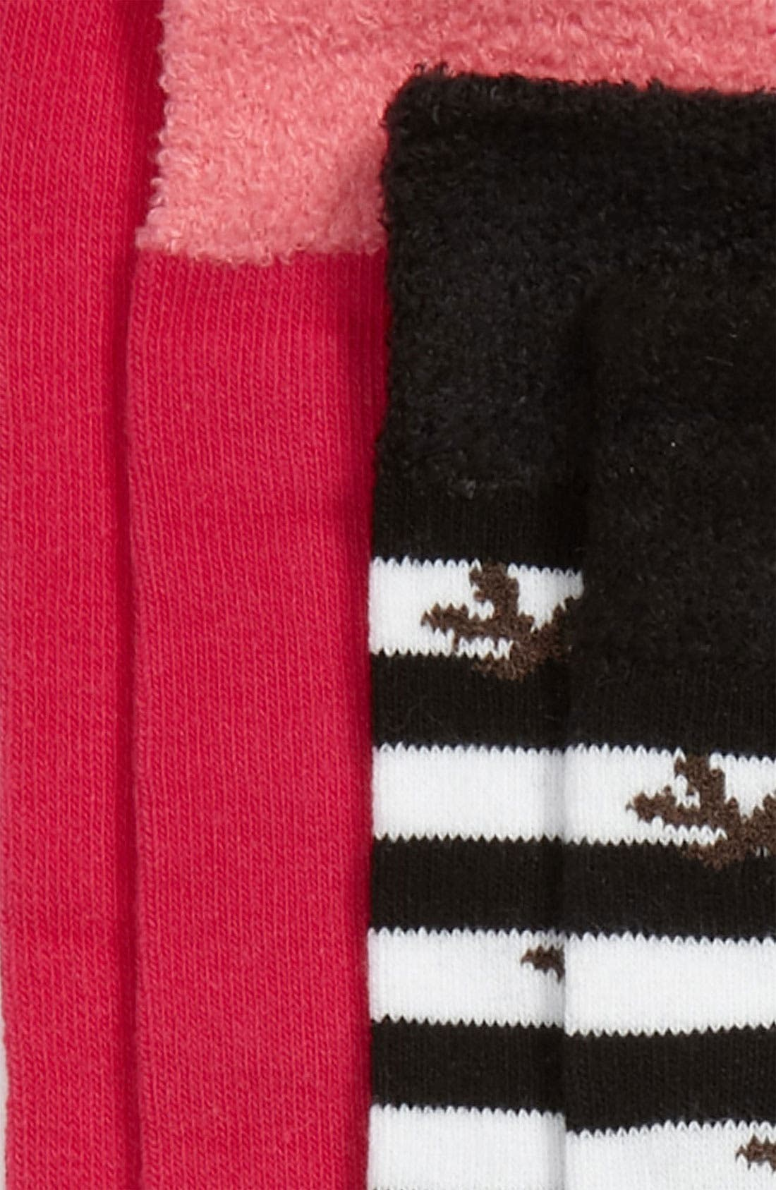 Alternate Image 2  - Nordstrom 'Silly Reindeer' Knee High Socks (2-Pack) (Walker, Toddler, Little Kid & Big Kid)