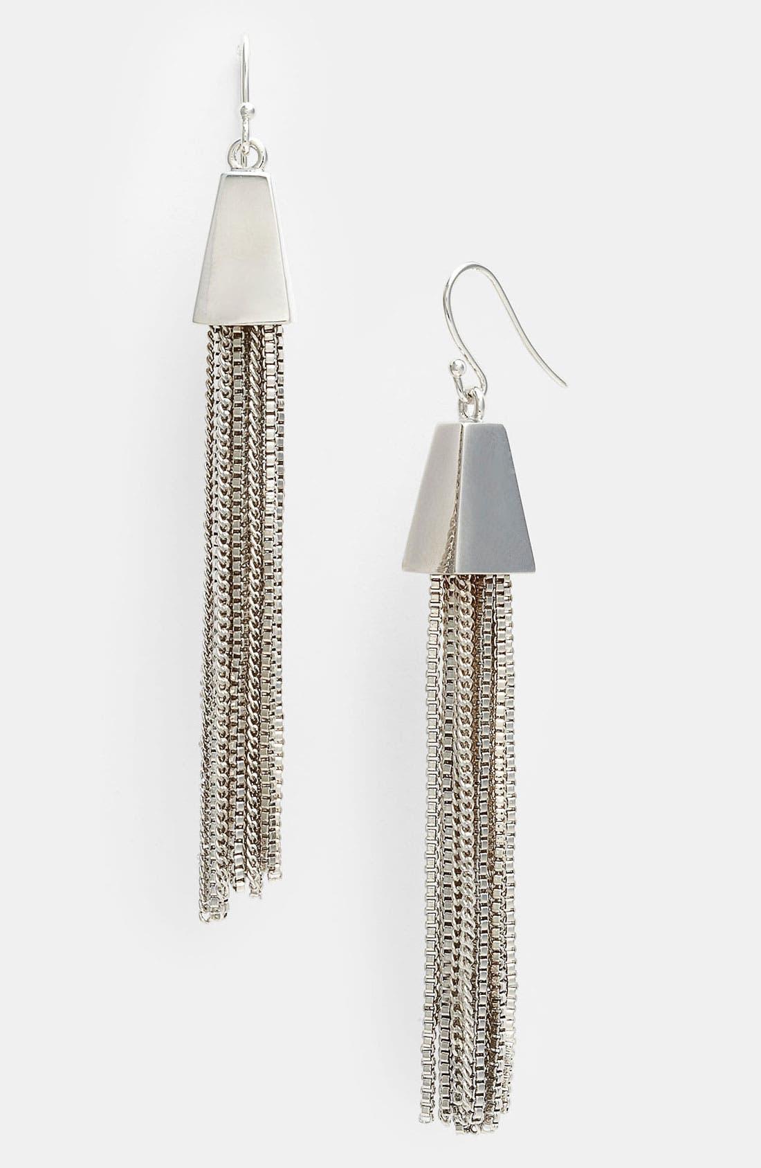 Alternate Image 1 Selected - Vince Camuto Tassel Earrings