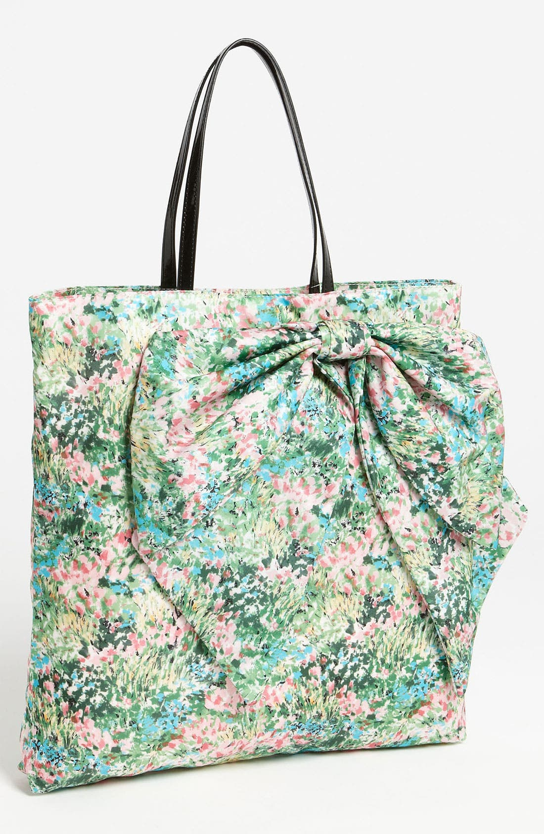 Alternate Image 1 Selected - RED Valentino 'Meadow Print' Bow Tote