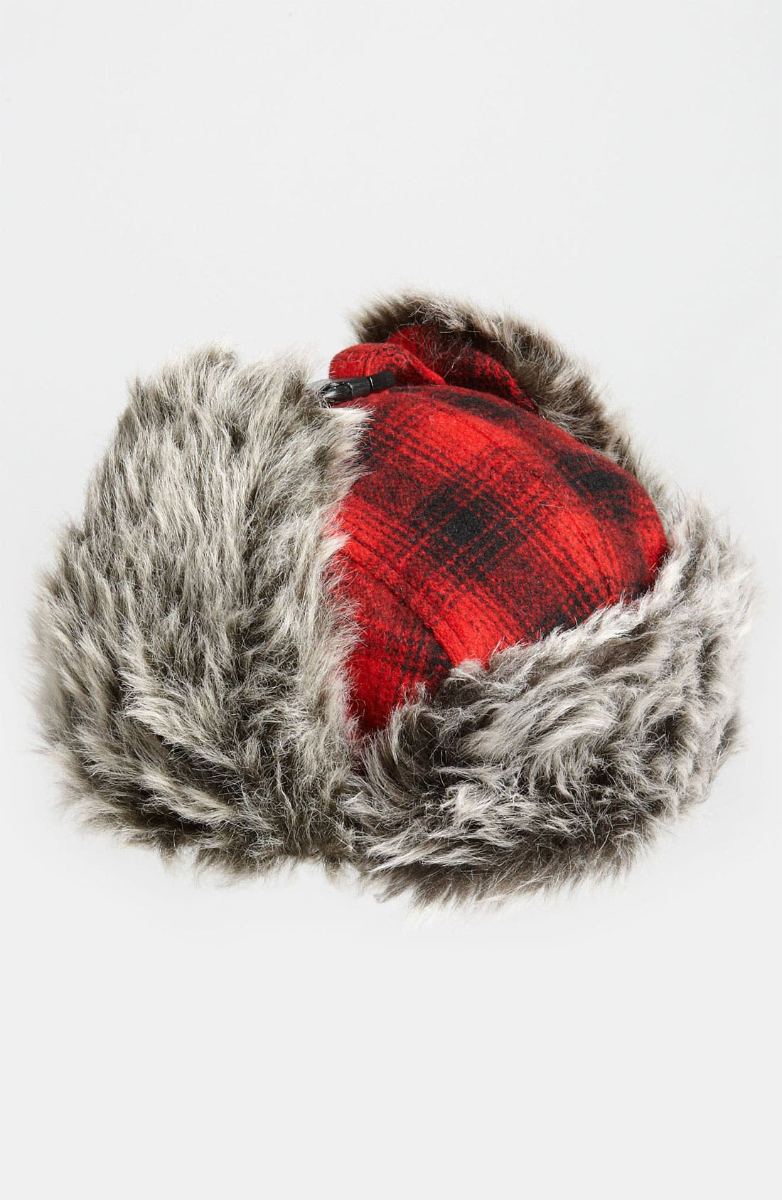 Alternate Image 2  - Free Authority 'Red Buffalo' Plaid Faux Fur Trapper Hat
