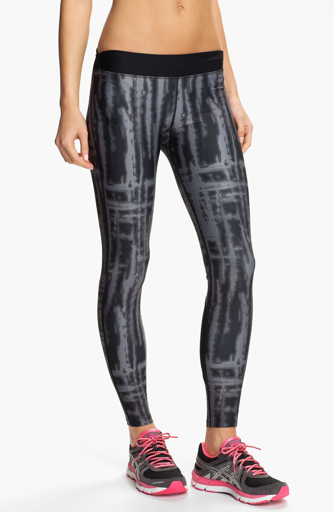 Alternate Image 1 Selected - Under Armour Print ColdGear® Tights