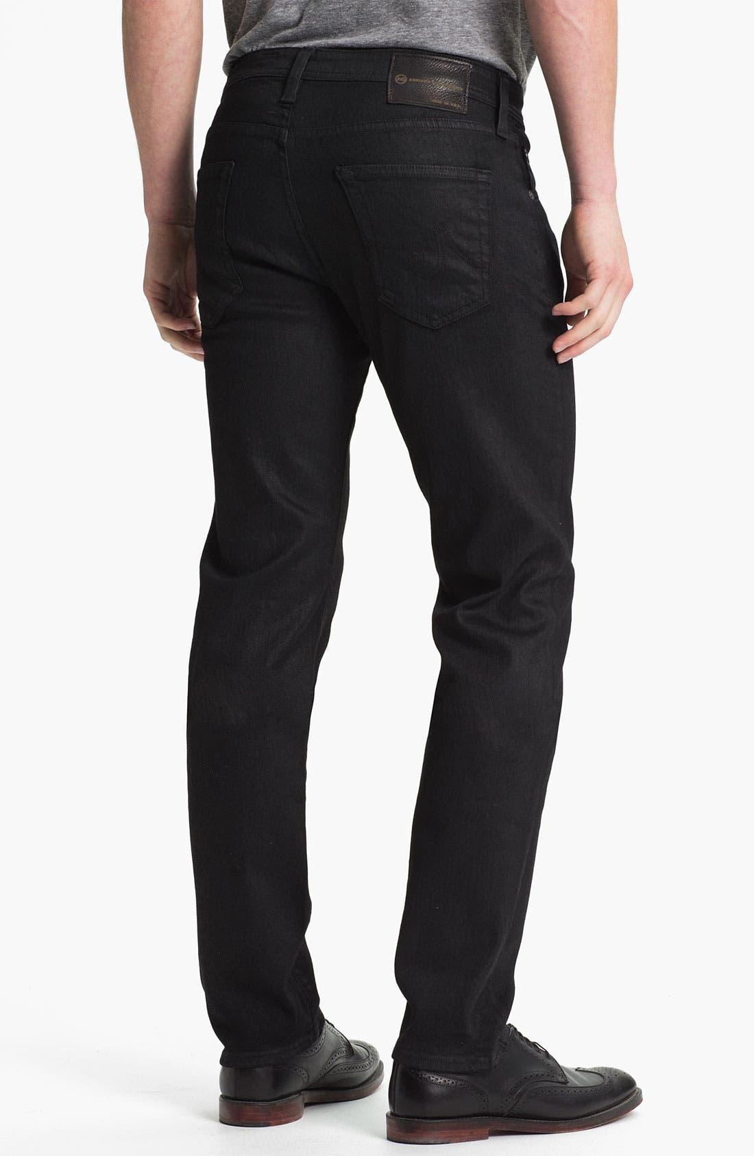 Alternate Image 2  - AG Jeans 'Matchbox Slim' Straight Leg Jeans (Coal)