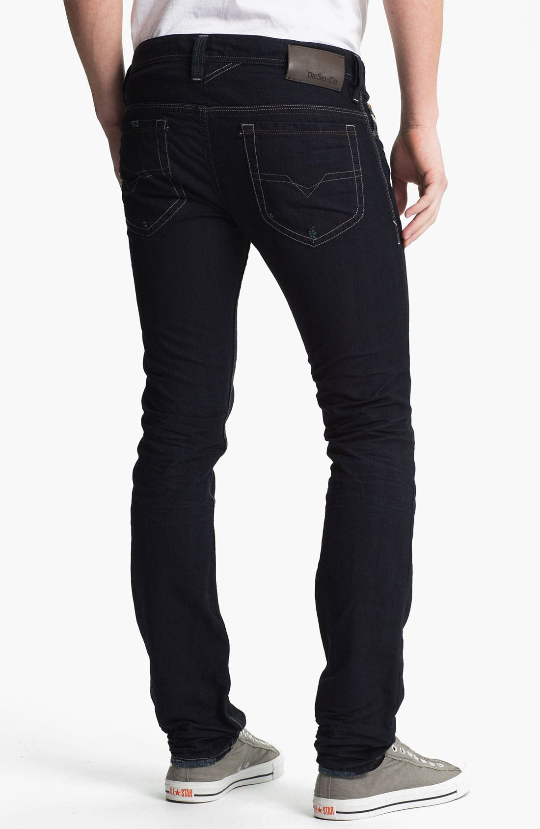 Alternate Image 1 Selected - DIESEL® 'Thanaz' Slim Skinny Leg Jeans (0601K)