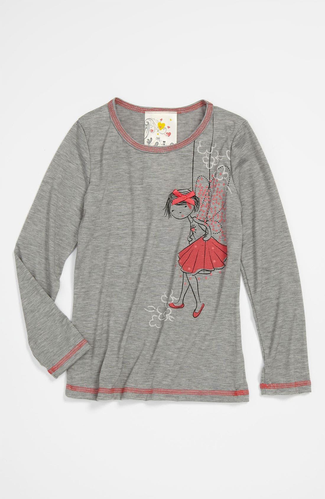 Alternate Image 1 Selected - Jenna & Jessie 'Fairy' Tee (Little Girls)