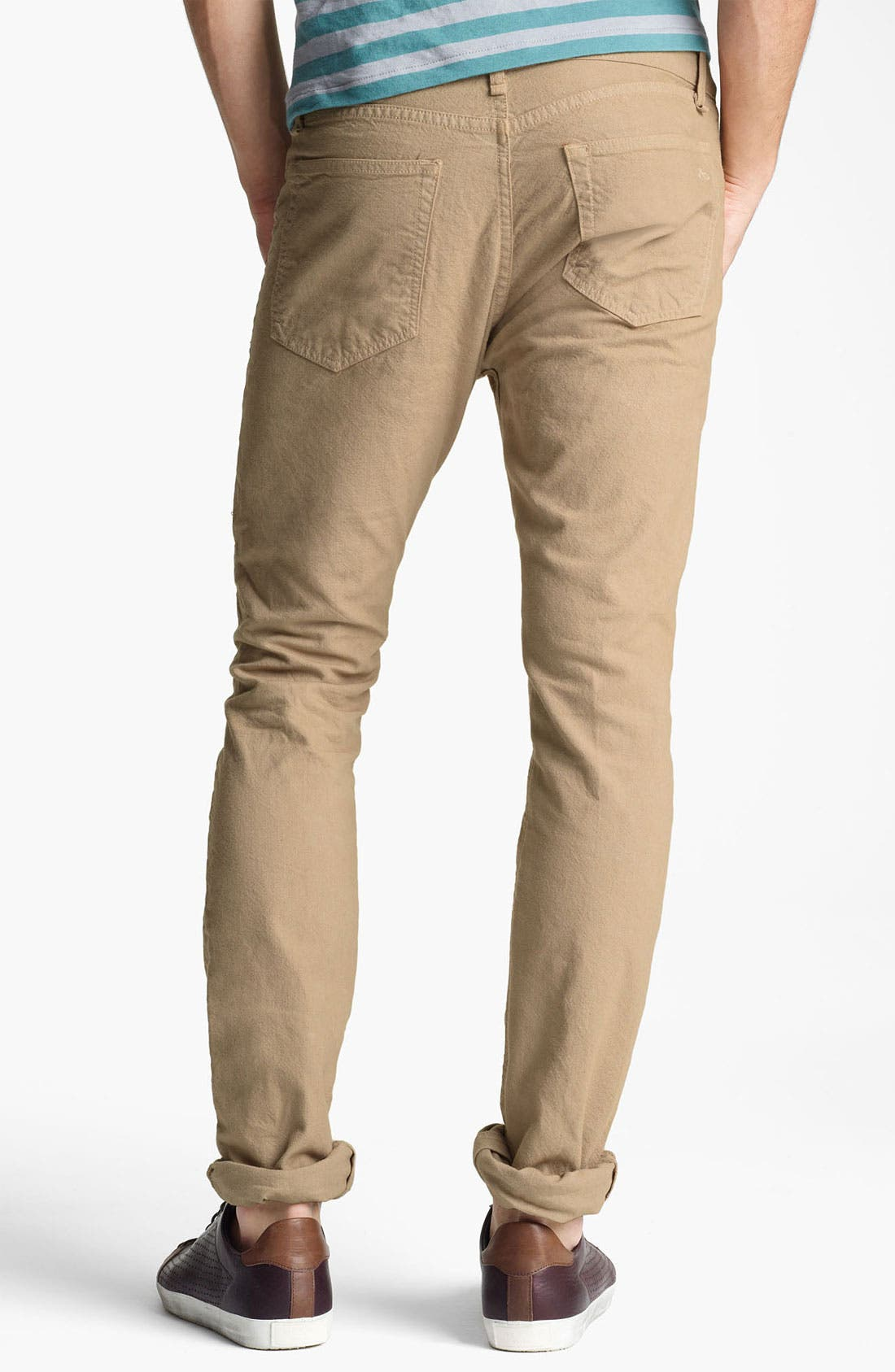 Alternate Image 2  - rag & bone 'RB15X' Cotton Chinos