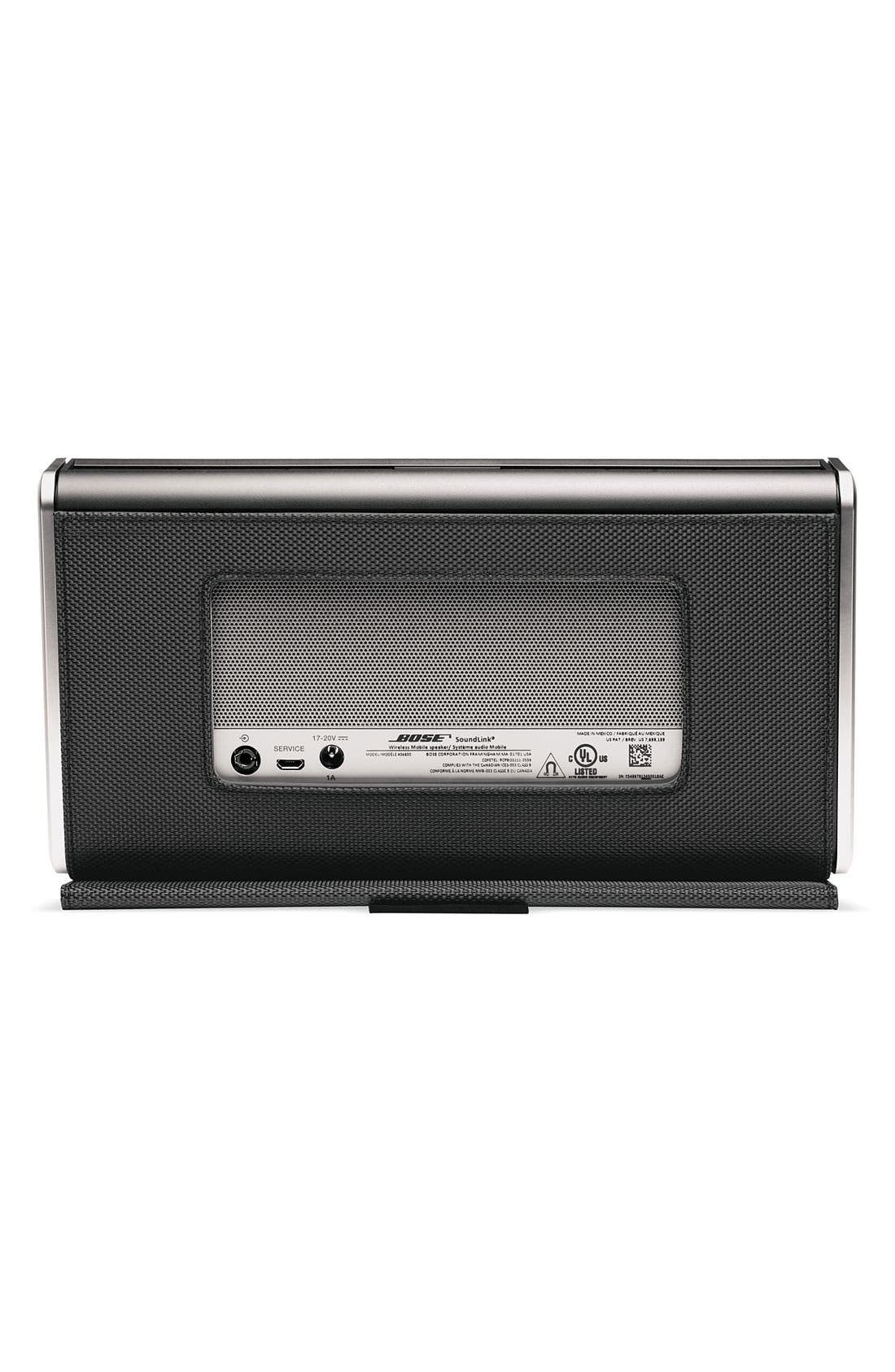 Alternate Image 2  - Bose® SoundLink® Bluetooth® Mobile Speaker II - Nylon Edition