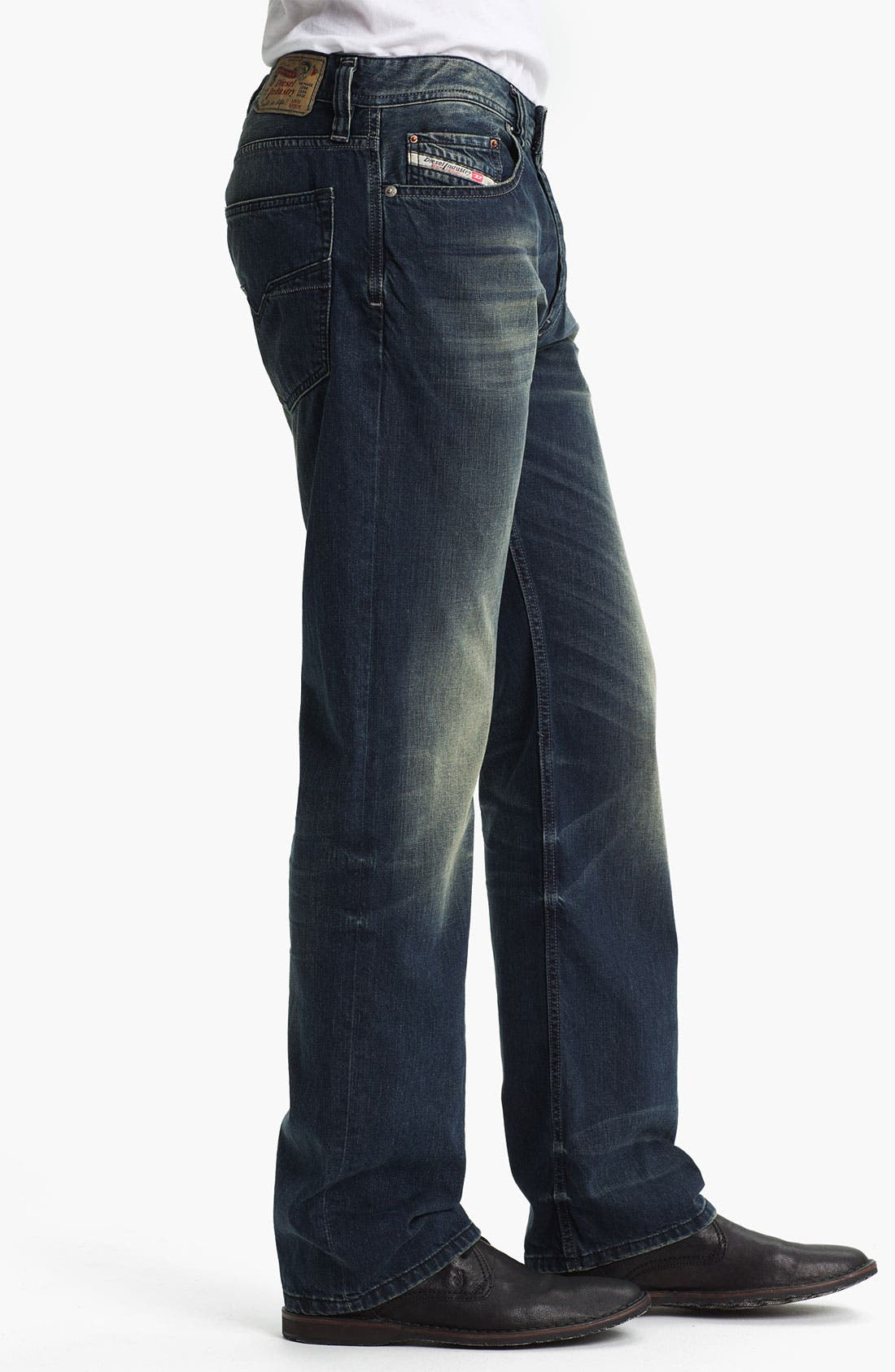 Alternate Image 3  - DIESEL® 'Larkee' Straight Leg Jeans (0807U)