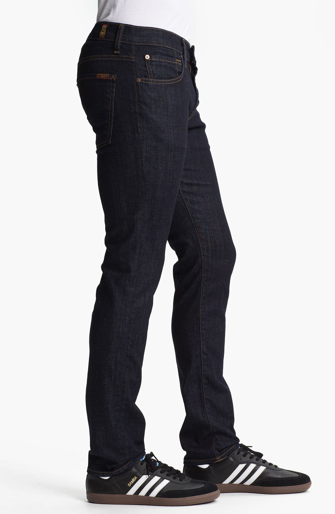 Alternate Image 3  - 7 For All Mankind® 'Paxtyn' Skinny Fit Jeans (Dark & Clean)