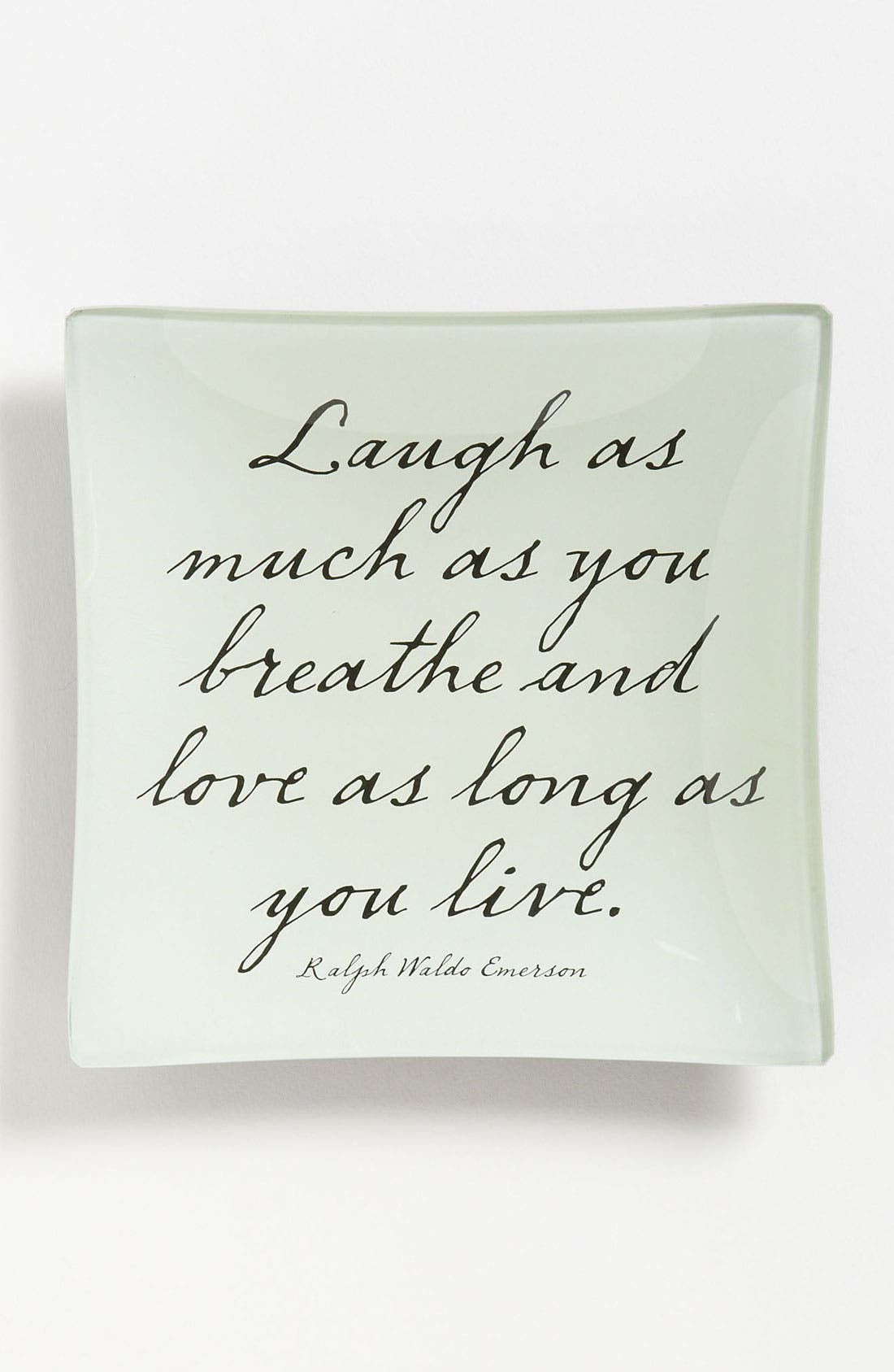 Alternate Image 1 Selected - Ben's Garden 'Laugh As Much As You Breathe' Trinket Tray