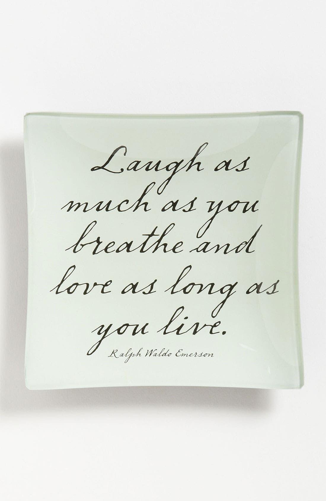 Main Image - Ben's Garden 'Laugh As Much As You Breathe' Trinket Tray