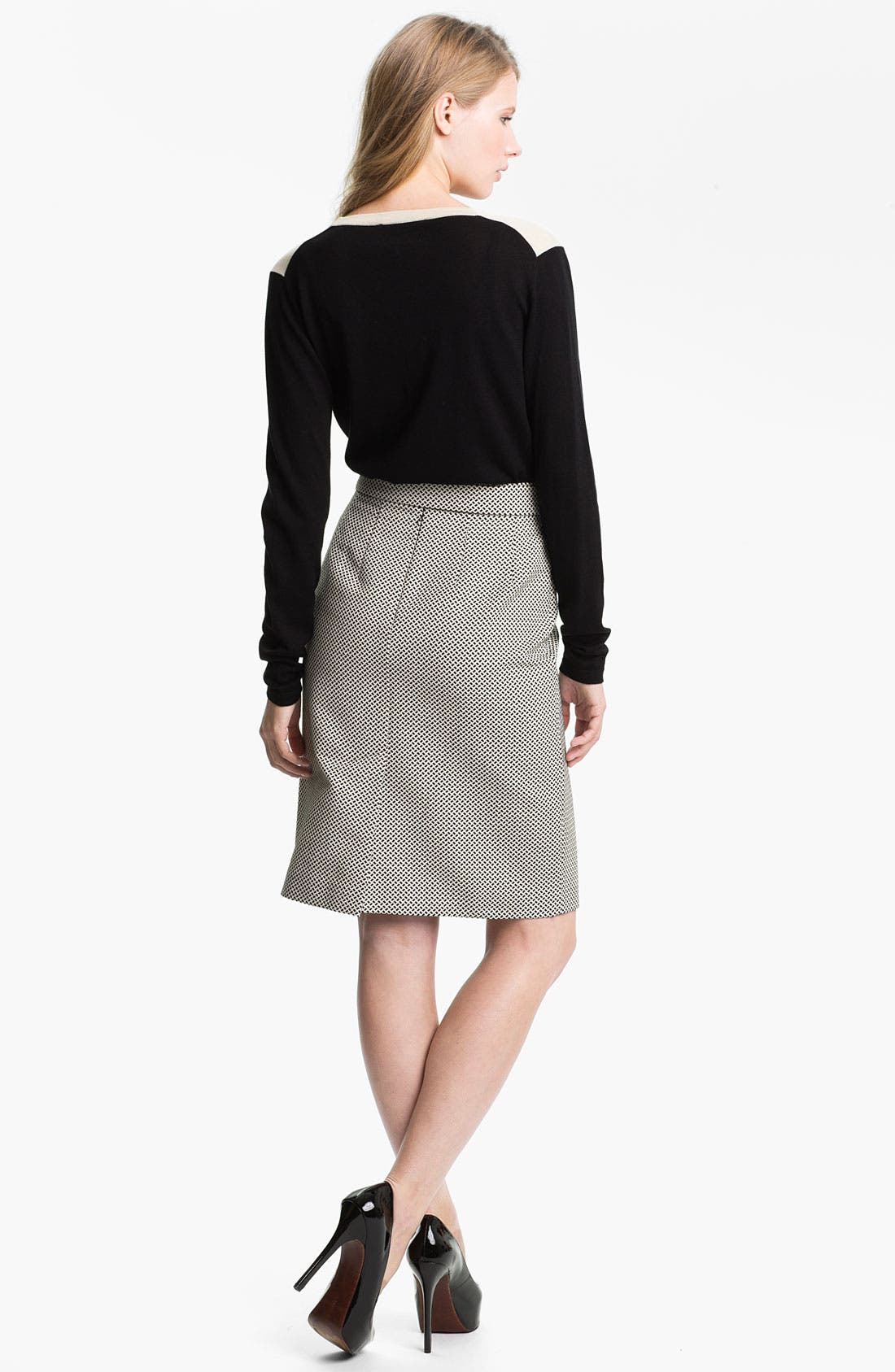 Alternate Image 5  - Weekend Max Mara 'Cesira' Bow Front Skirt