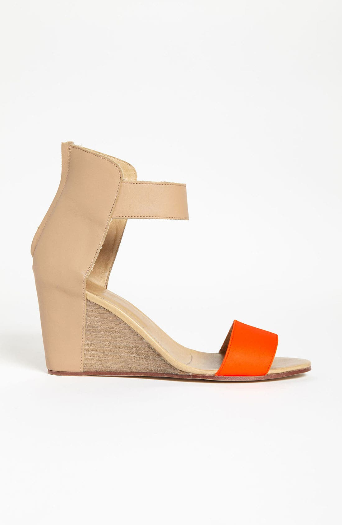 Alternate Image 4  - MM6 Maison Margiela Two Tone Wedge Sandal
