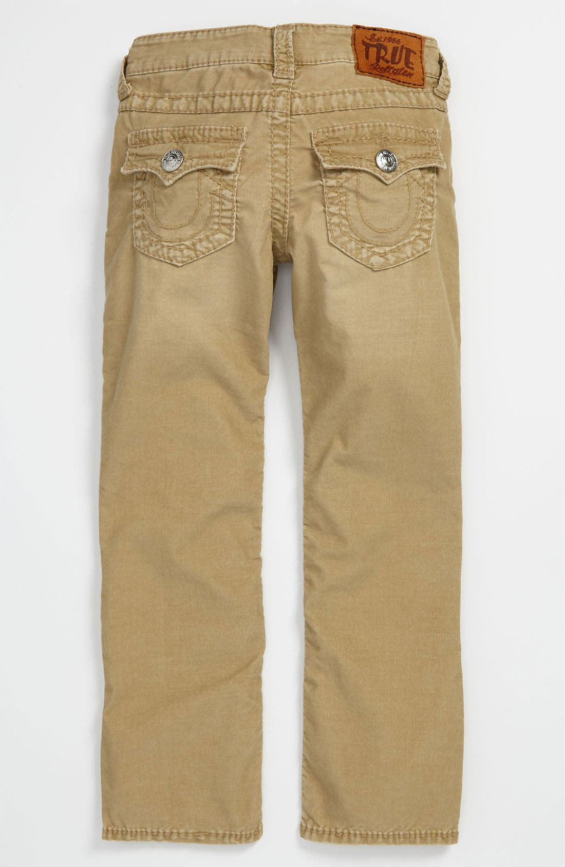 Main Image - True Religion Brand Jeans 'Jack' Straight Leg Corduroy Jeans (Big Boys)