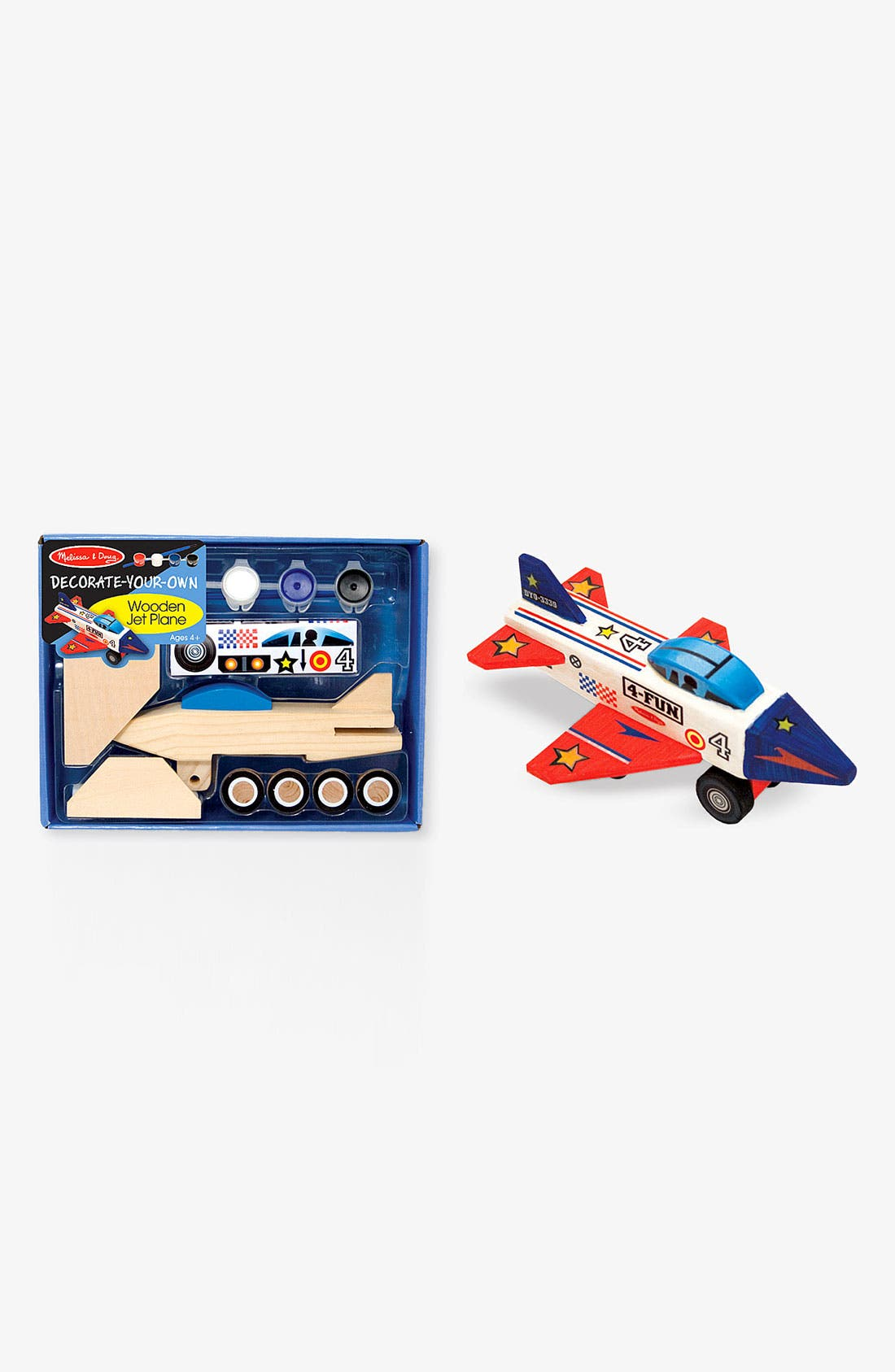Alternate Image 1 Selected - Melissa & Doug Wooden Airplane Model