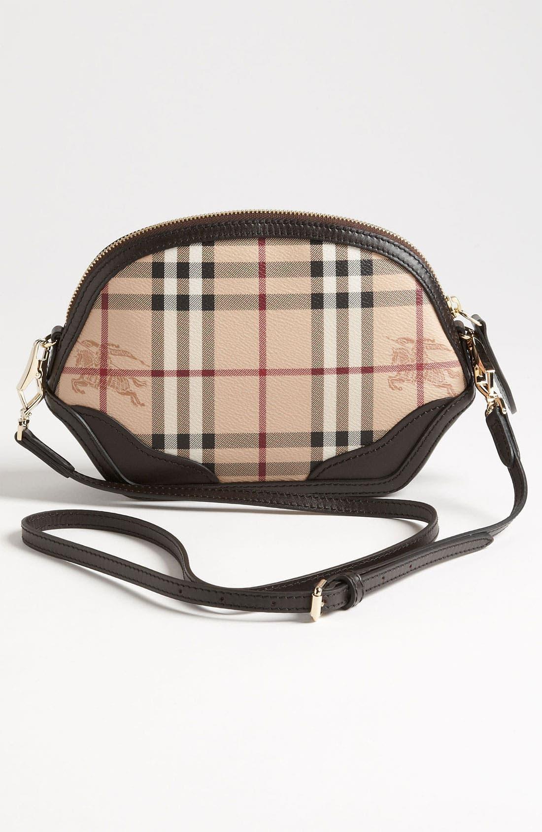 Alternate Image 4  - Burberry 'Haymarket Check - Mini' Crossbody Bag