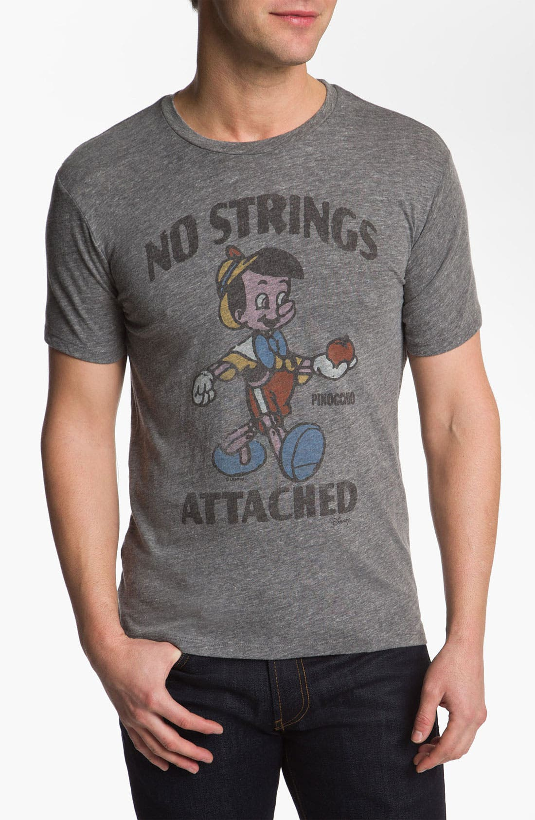 Alternate Image 1 Selected - Junk Food 'No Strings Attached' Graphic T-Shirt