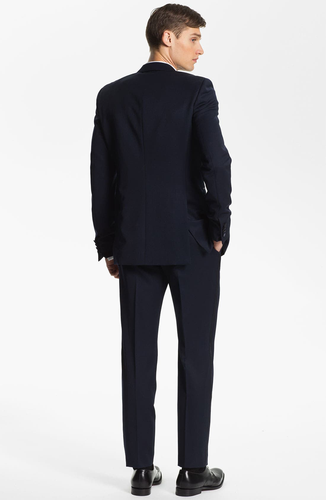 Alternate Image 5  - Burberry Prorsum Wool Tuxedo Pants