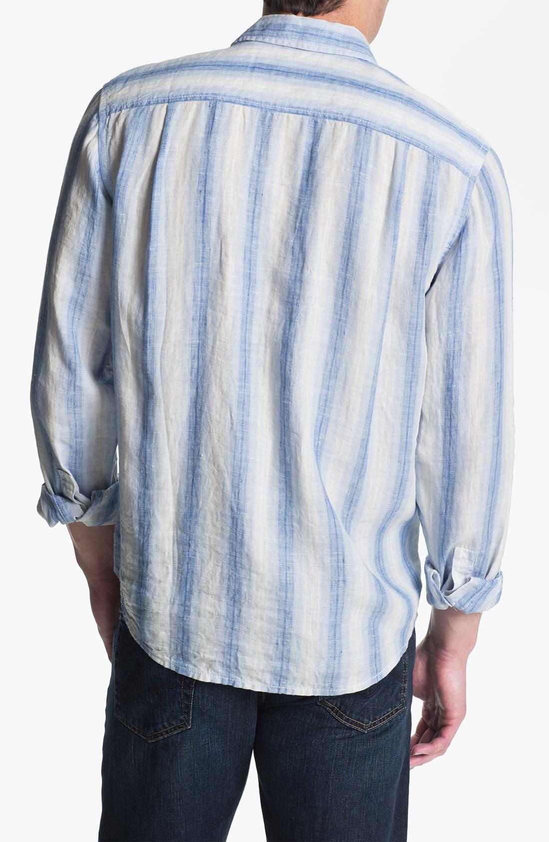 Alternate Image 2  - Tommy Bahama 'Eastern Seaboard' Linen Sport Shirt (Big & Tall)