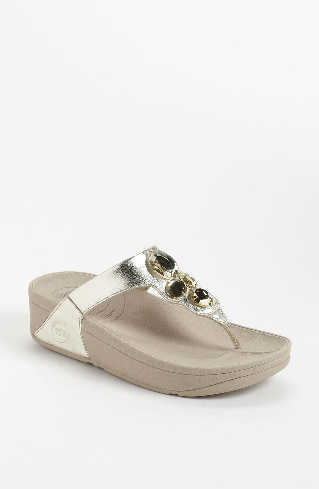 Alternate Image 1 Selected - FitFlop 'Lunetta' Sandal