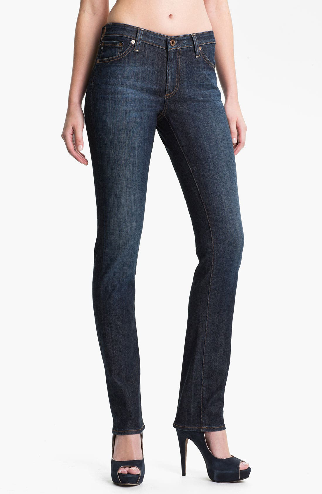 Main Image - AG Jeans 'The Premiere' Skinny Stretch Jeans (Swoon)