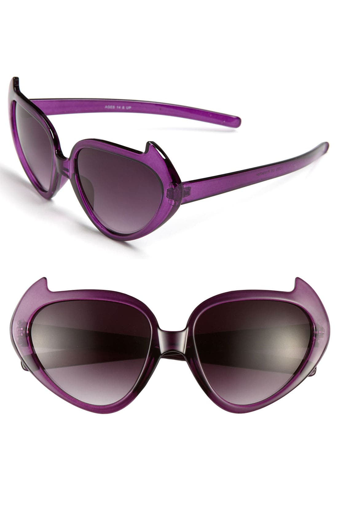 Alternate Image 1 Selected - FE NY 'Kitty' Cat's Eye Sunglasses