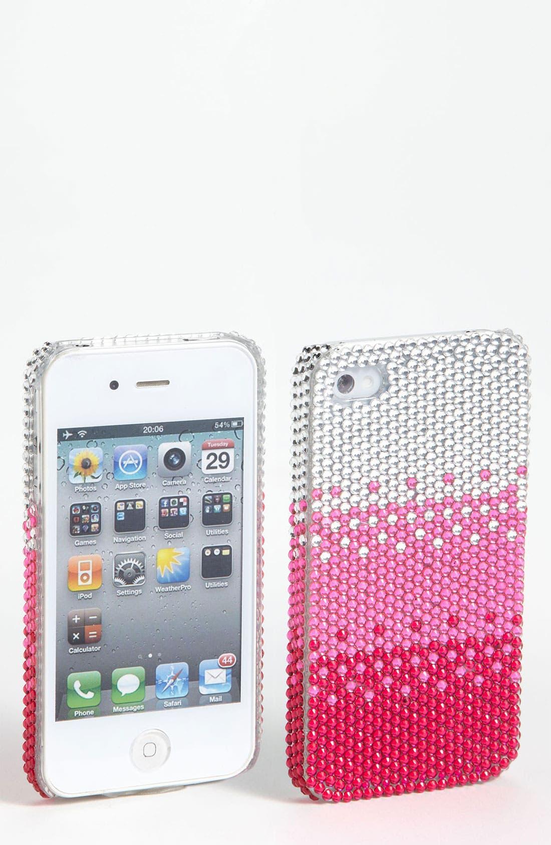 Alternate Image 1 Selected - Tricoastal Design iPhone 4 & 4s Ombré Rhinestone Case
