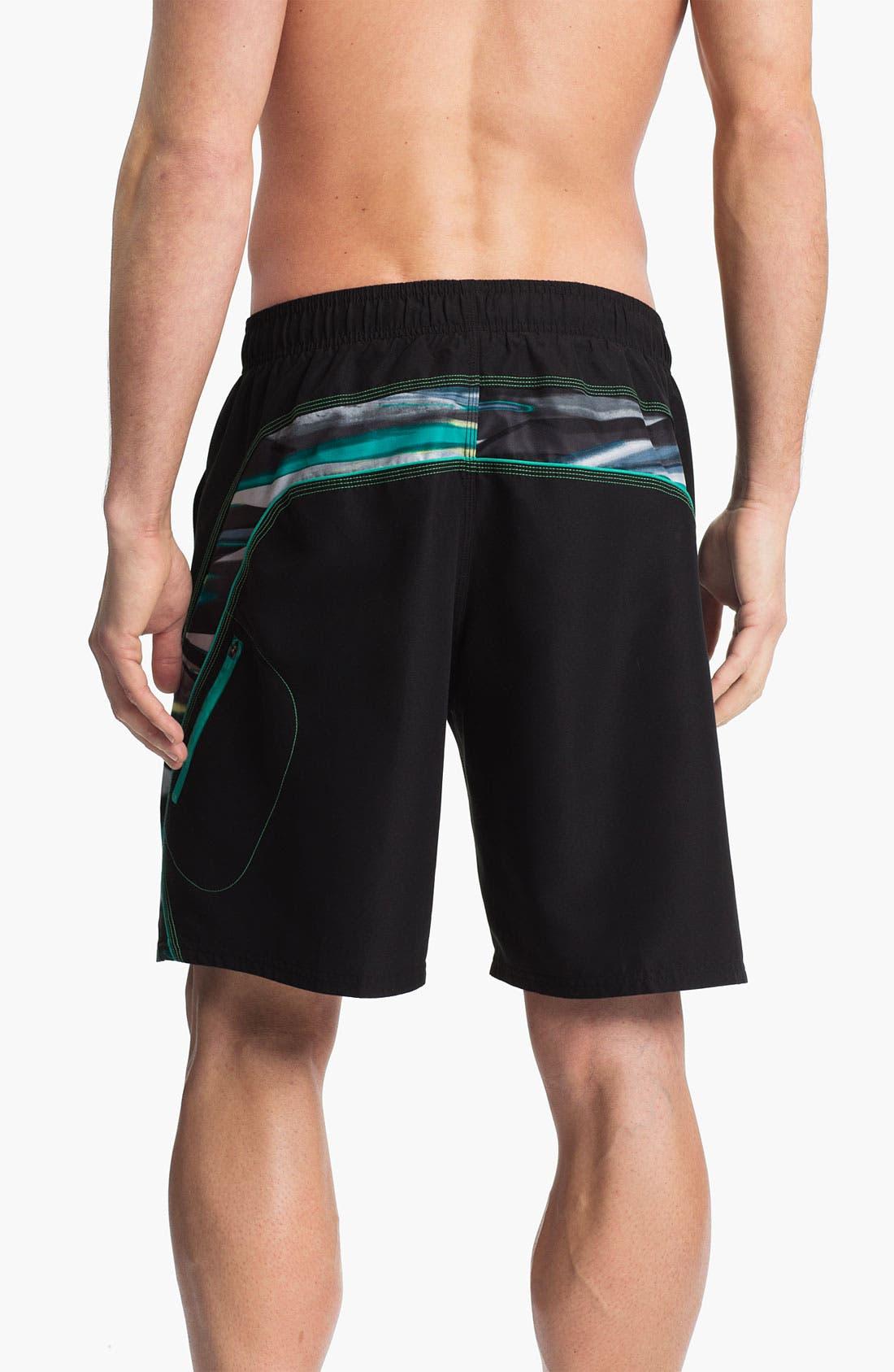 Alternate Image 2  - Nike 'Laser Stripes Splice' Volley Shorts