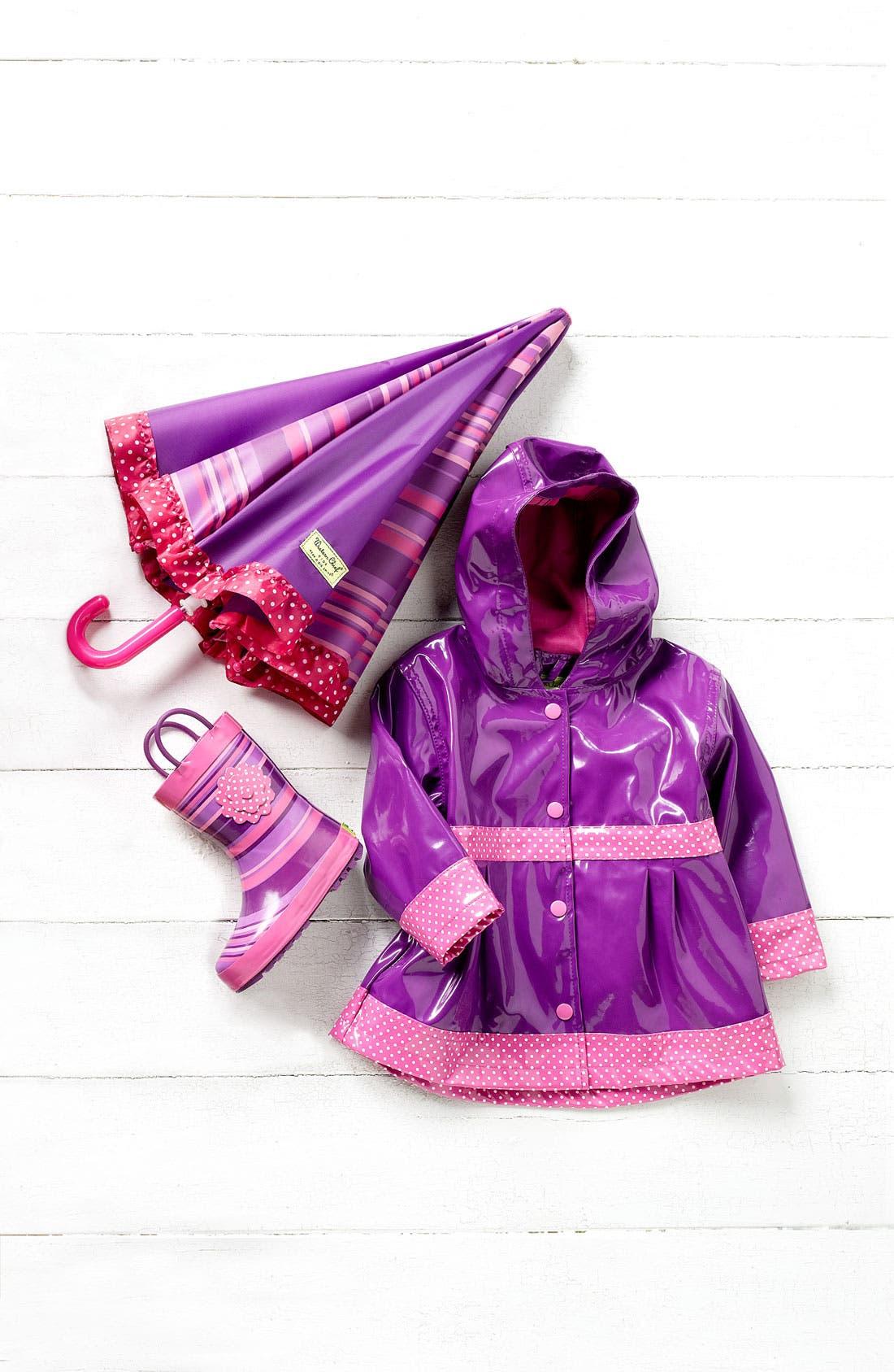 Alternate Image 1 Selected - Western Chief Raincoat & Rain Boot (Toddler, Little Girls & Big Girls)