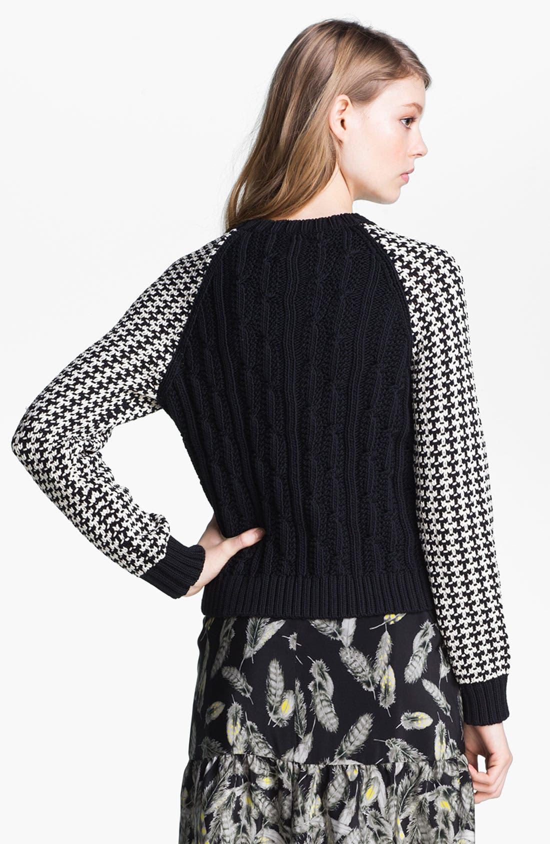 Alternate Image 3  - Miss Wu Contrast Sleeve Sweater (Nordstrom Exclusive)