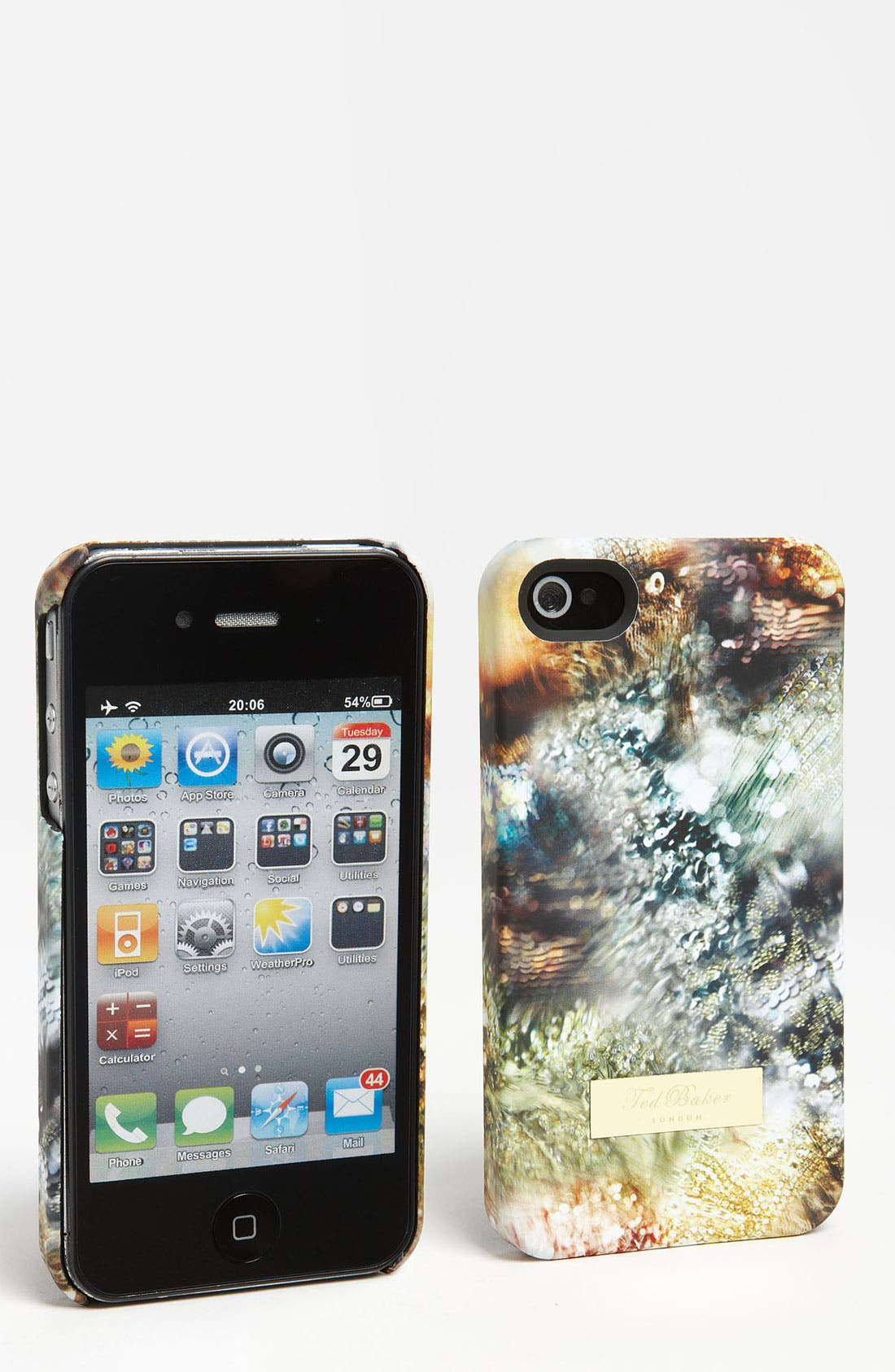 Main Image - Ted Baker London 'Sequin Print' iPhone 4 & 4S Case