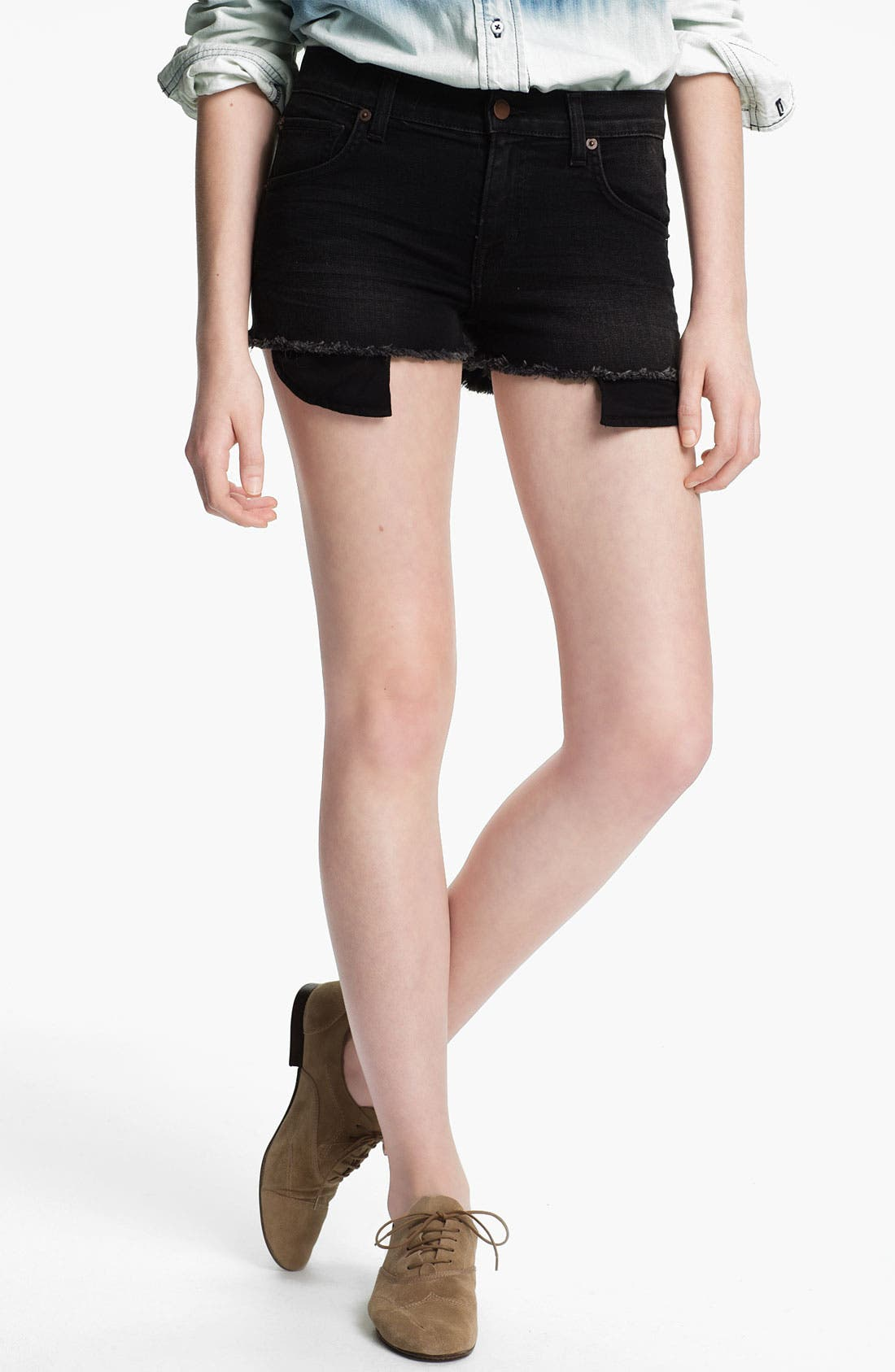 Main Image - TEXTILE Elizabeth and James Cutoff Shorts