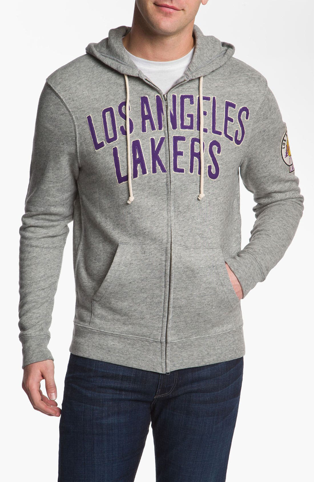 Alternate Image 1 Selected - Junk Food 'Los Angeles Lakers' Hoodie