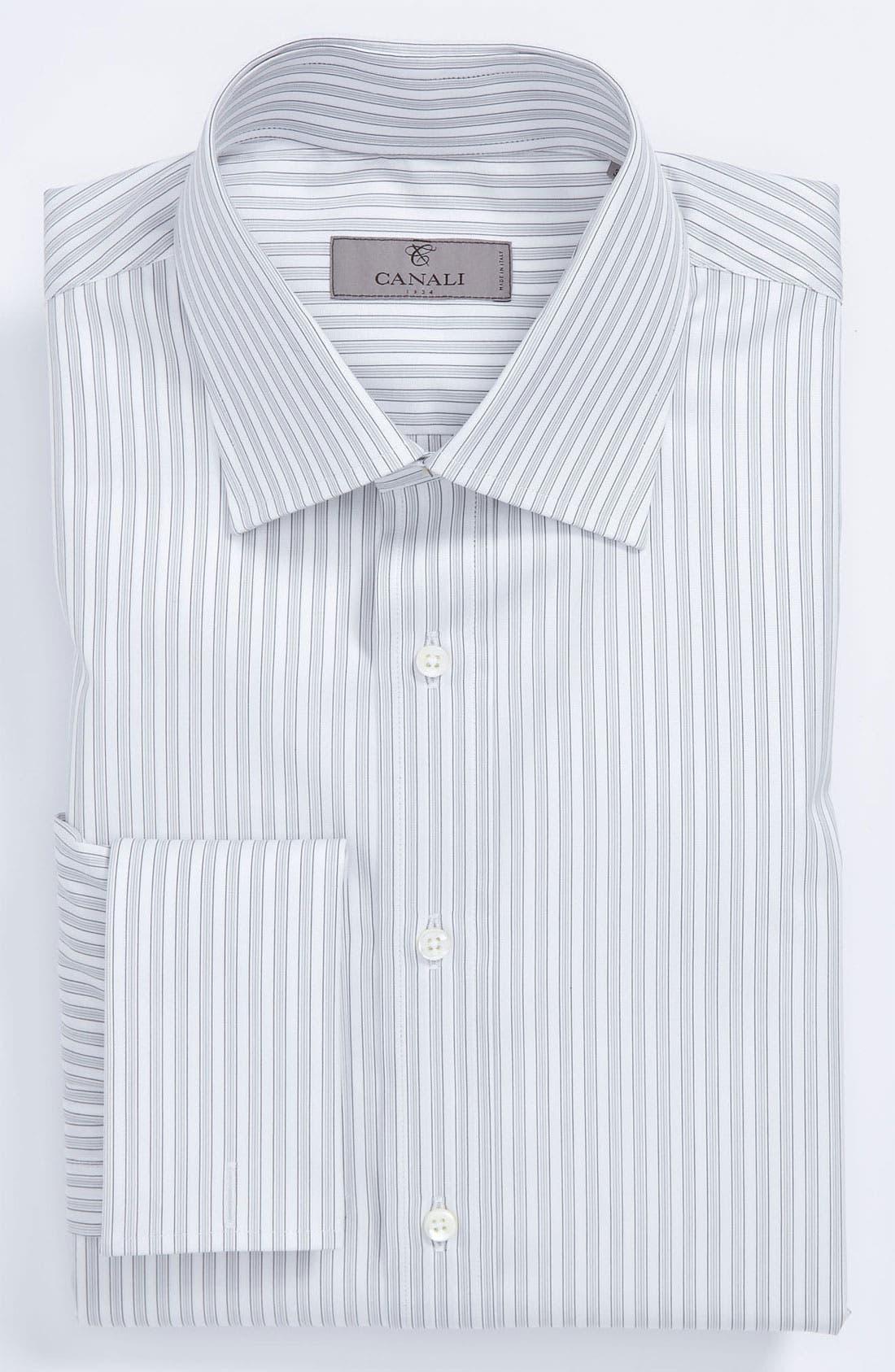 Main Image - Canali Regular Fit Dress Shirt