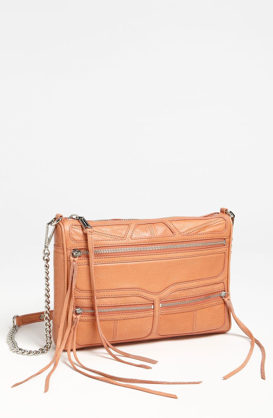 Alternate Image 1 Selected - Rebecca Minkoff '3 Zip MAC' Shoulder Bag