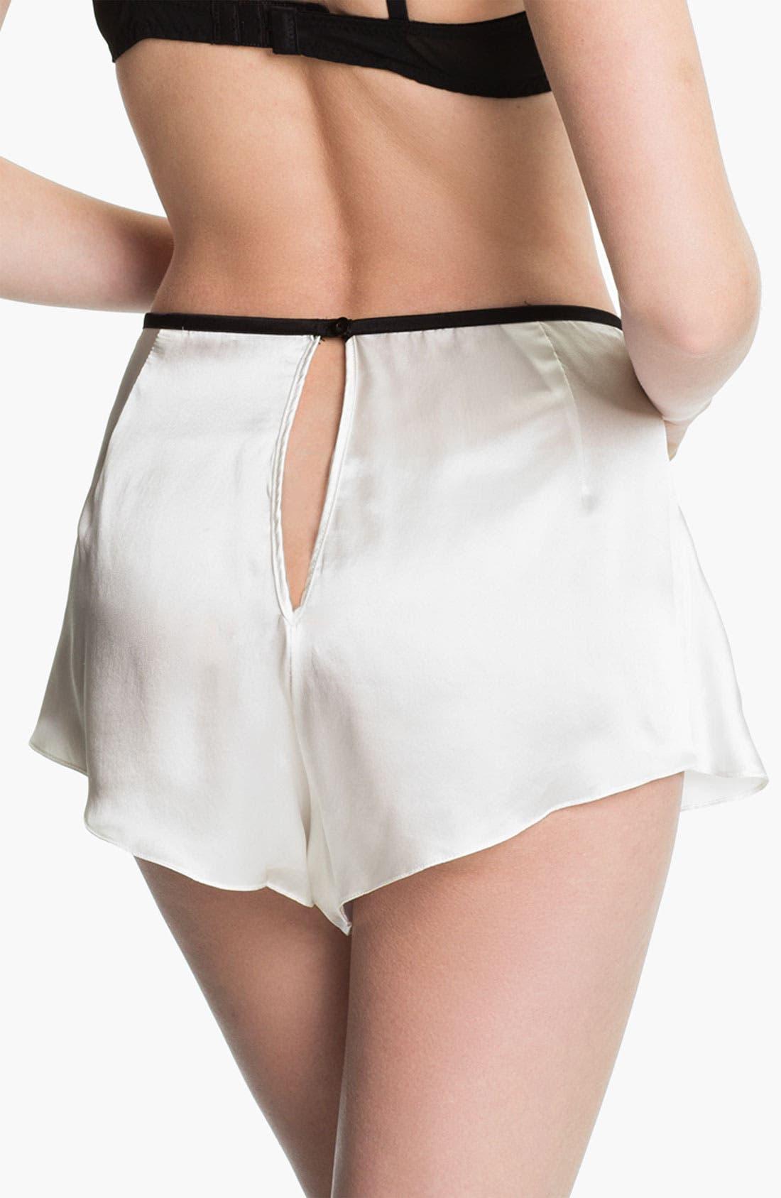 Alternate Image 2  - Mimi Holliday 'Luna Belle' Satin Shorts