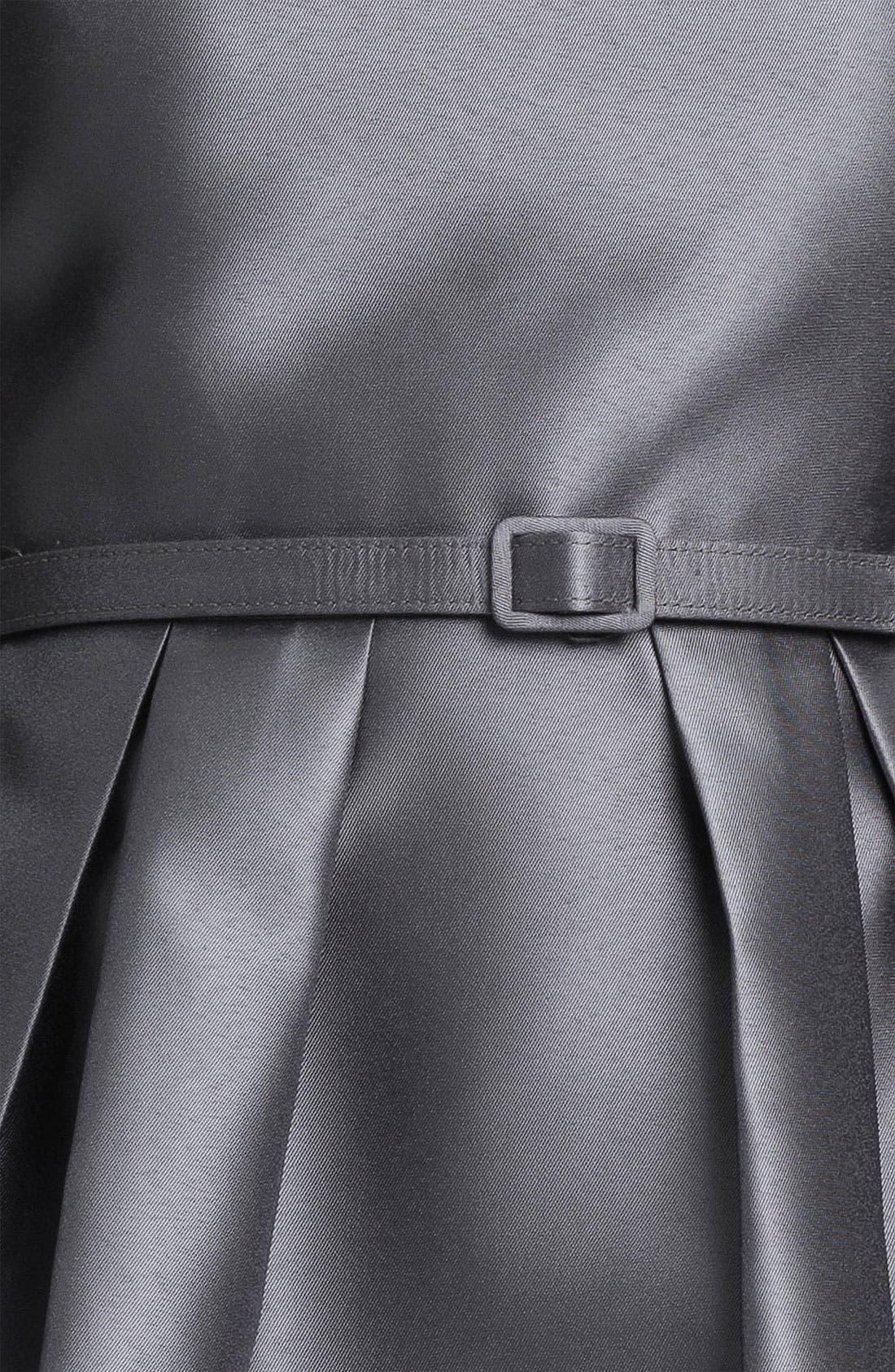 Alternate Image 3  - Eliza J V-Back Faille Fit & Flare Dress