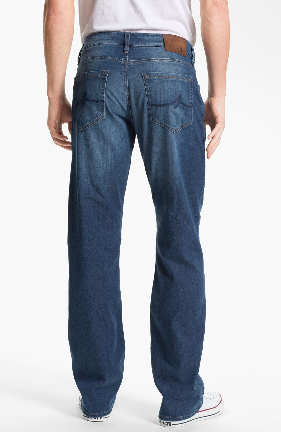Alternate Image 2  - 34 Heritage 'Courage' Straight Leg Jeans (Mid Cashmere) (Online Exclusive)