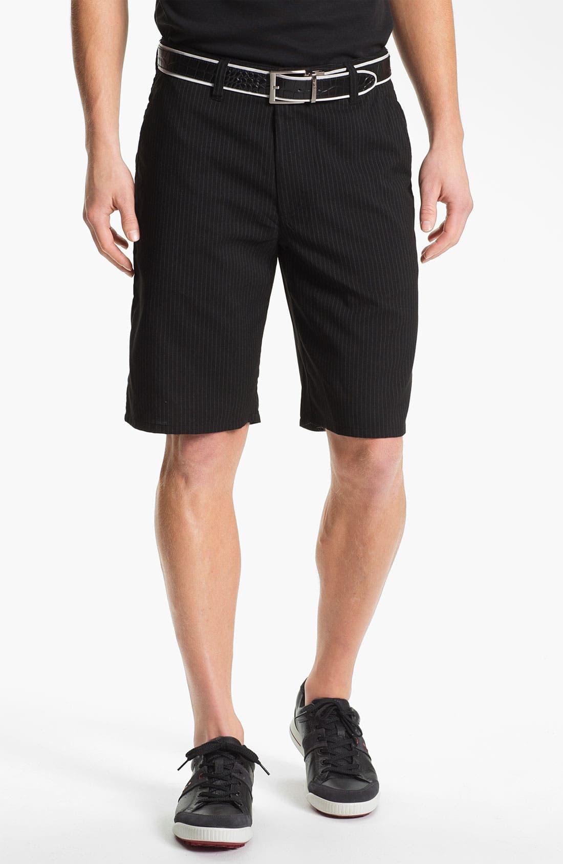 Main Image - Travis Mathew Flat Front Golf Shorts
