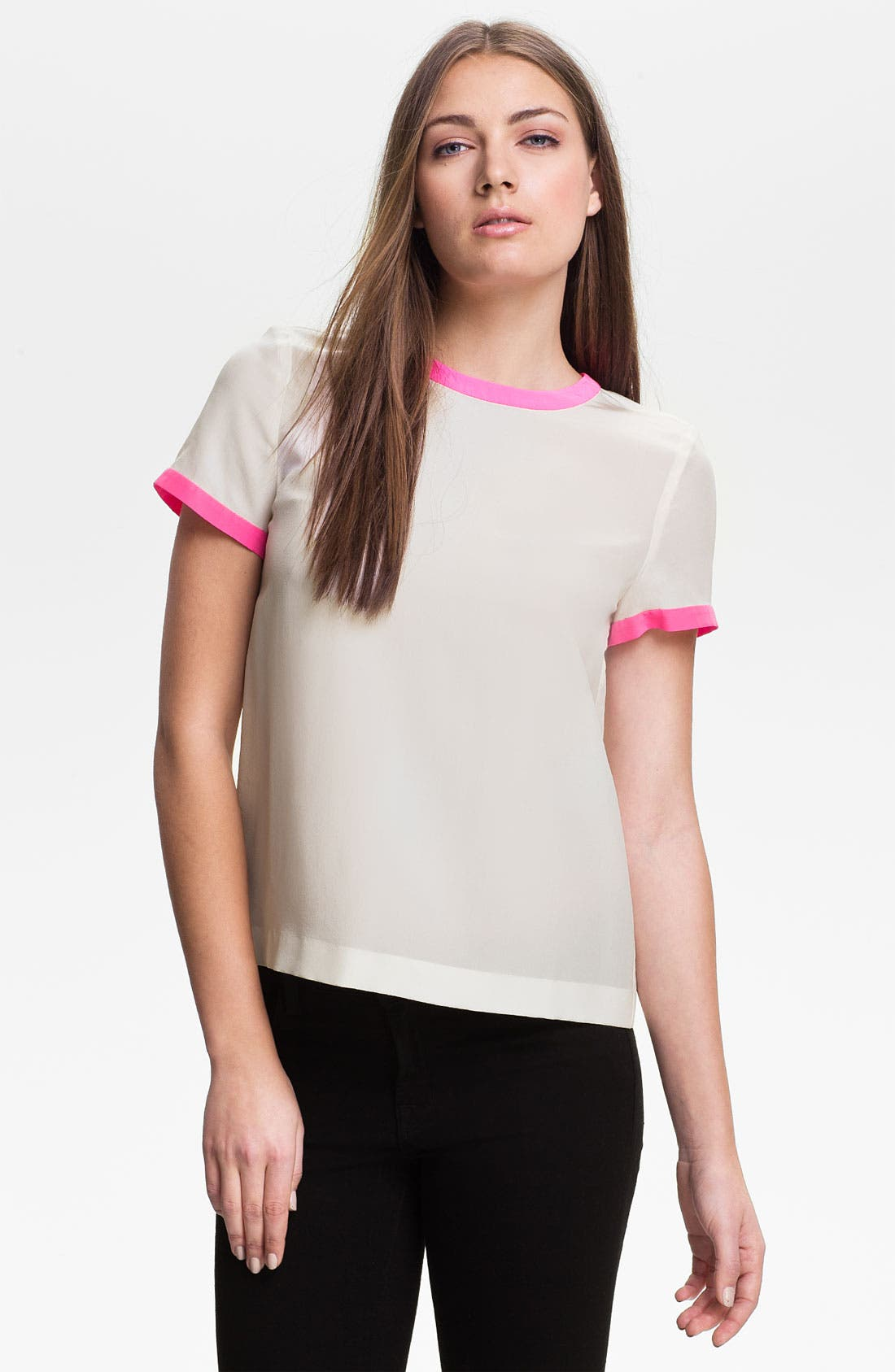Main Image - kate spade new york 'myrna' silk top