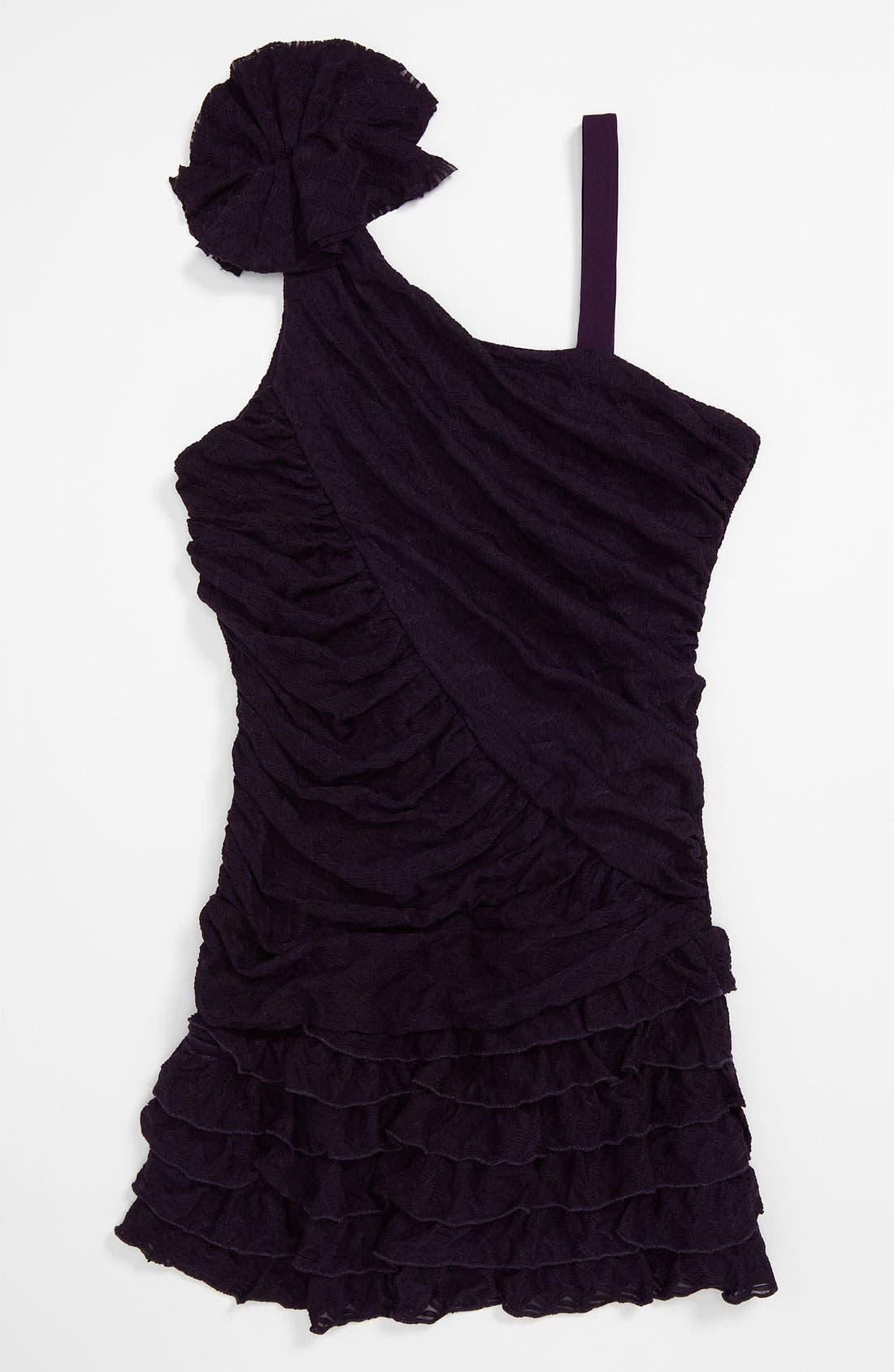 Main Image - Elisa B 'Novelty' Knit Dress (Big Girls)