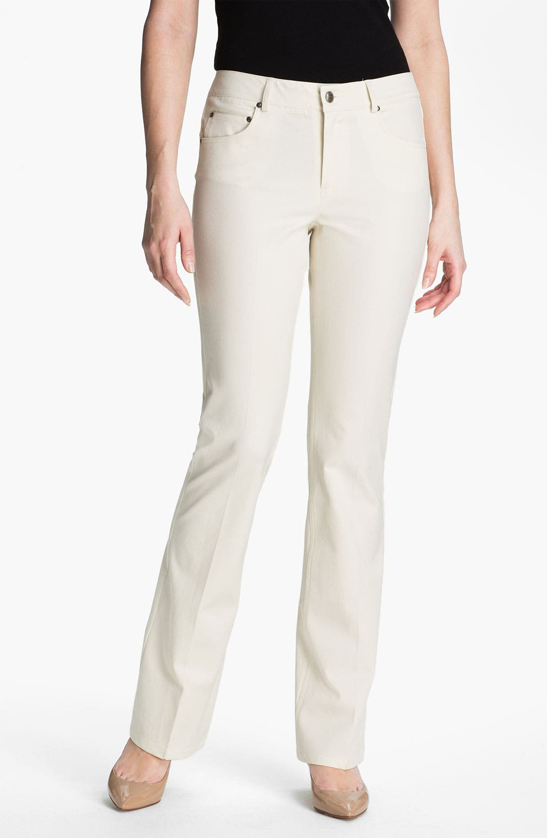 Alternate Image 1 Selected - AWoman 'Montana' Five-Pocket Pants