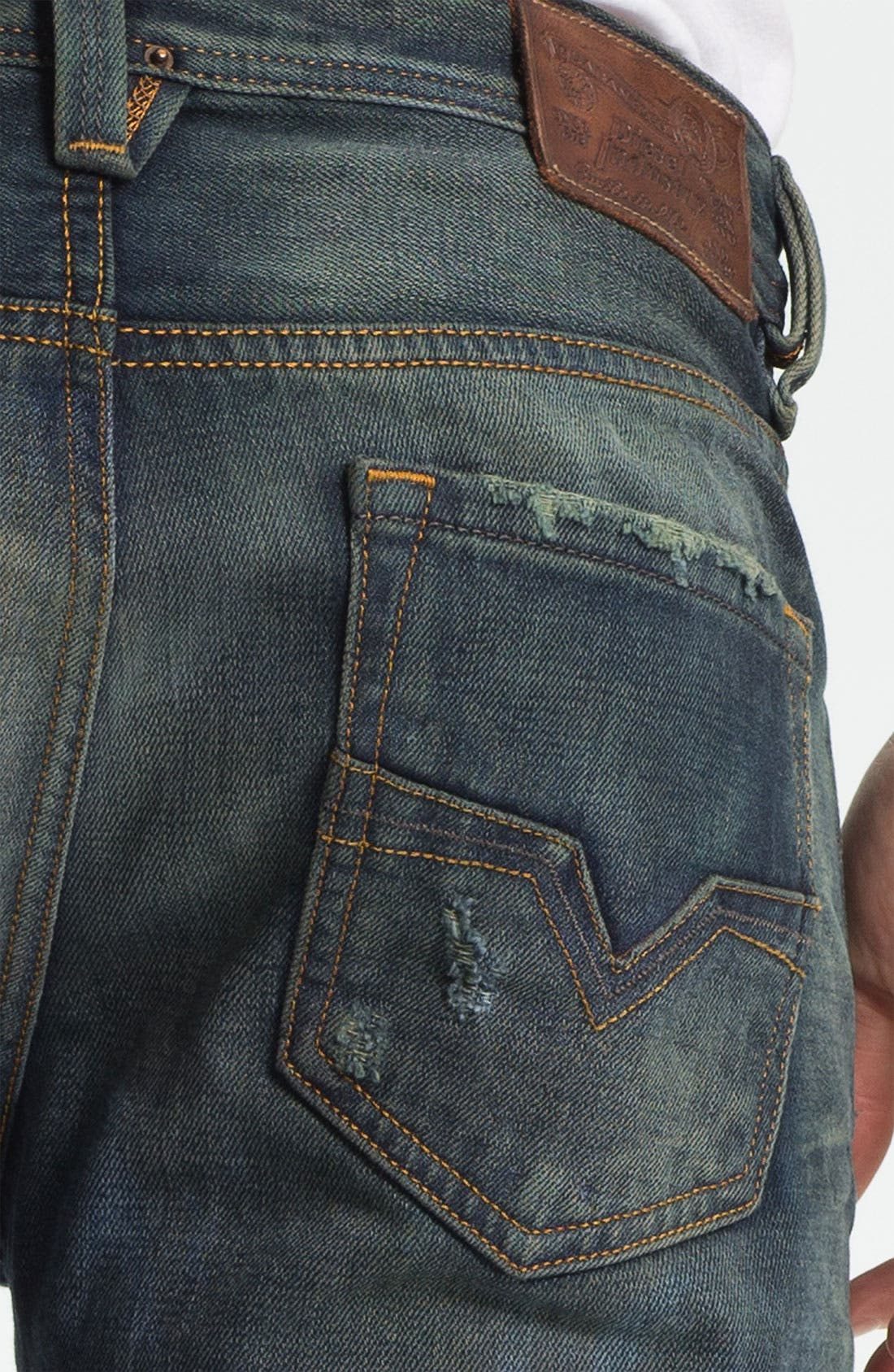 Alternate Image 4  - DIESEL® 'Larkee' Straight Leg Jeans (0075L)
