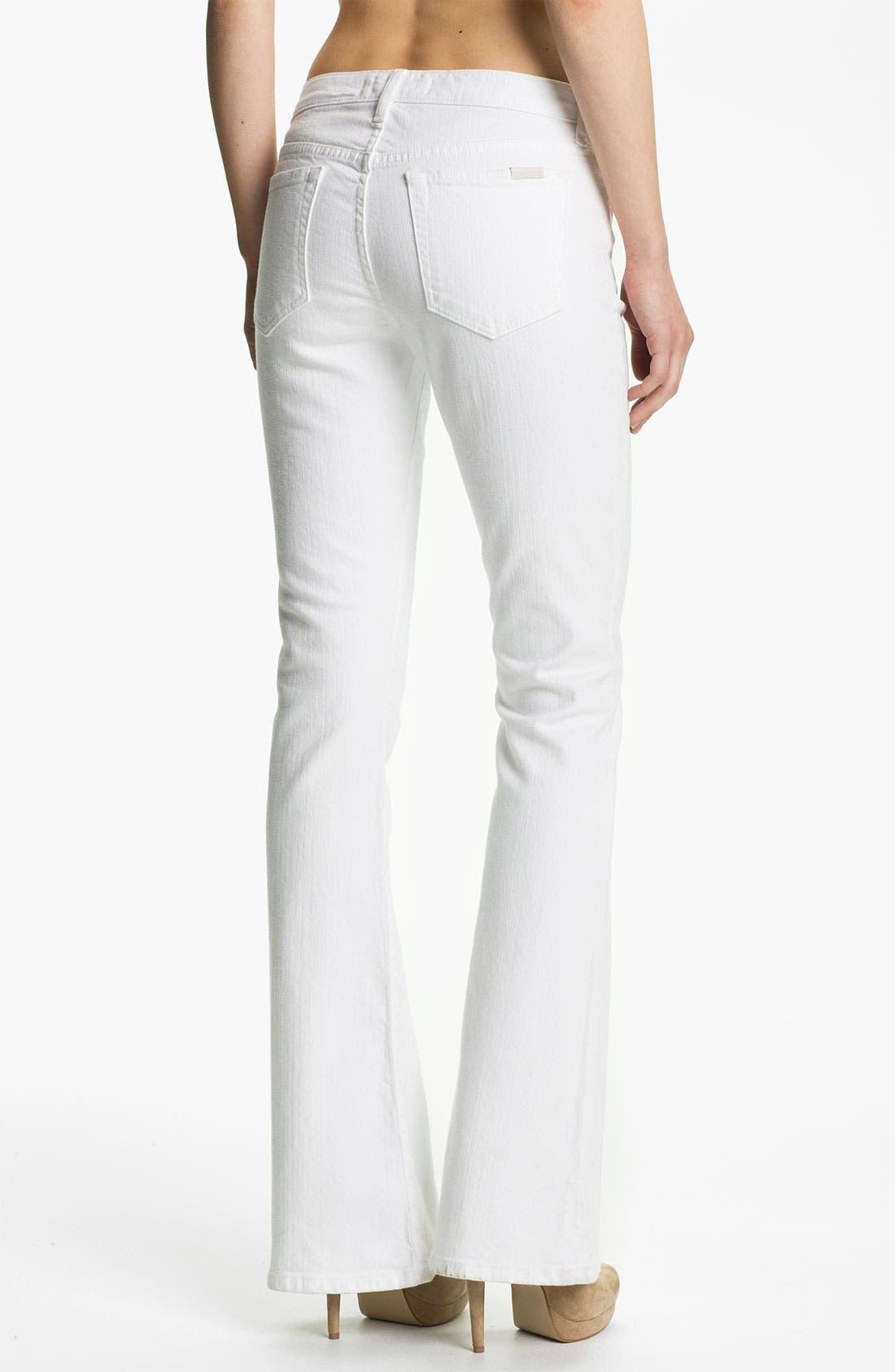 Alternate Image 2  - Joe's 'Visionaire' Stretch Denim Bootcut Jeans (Bonnie)