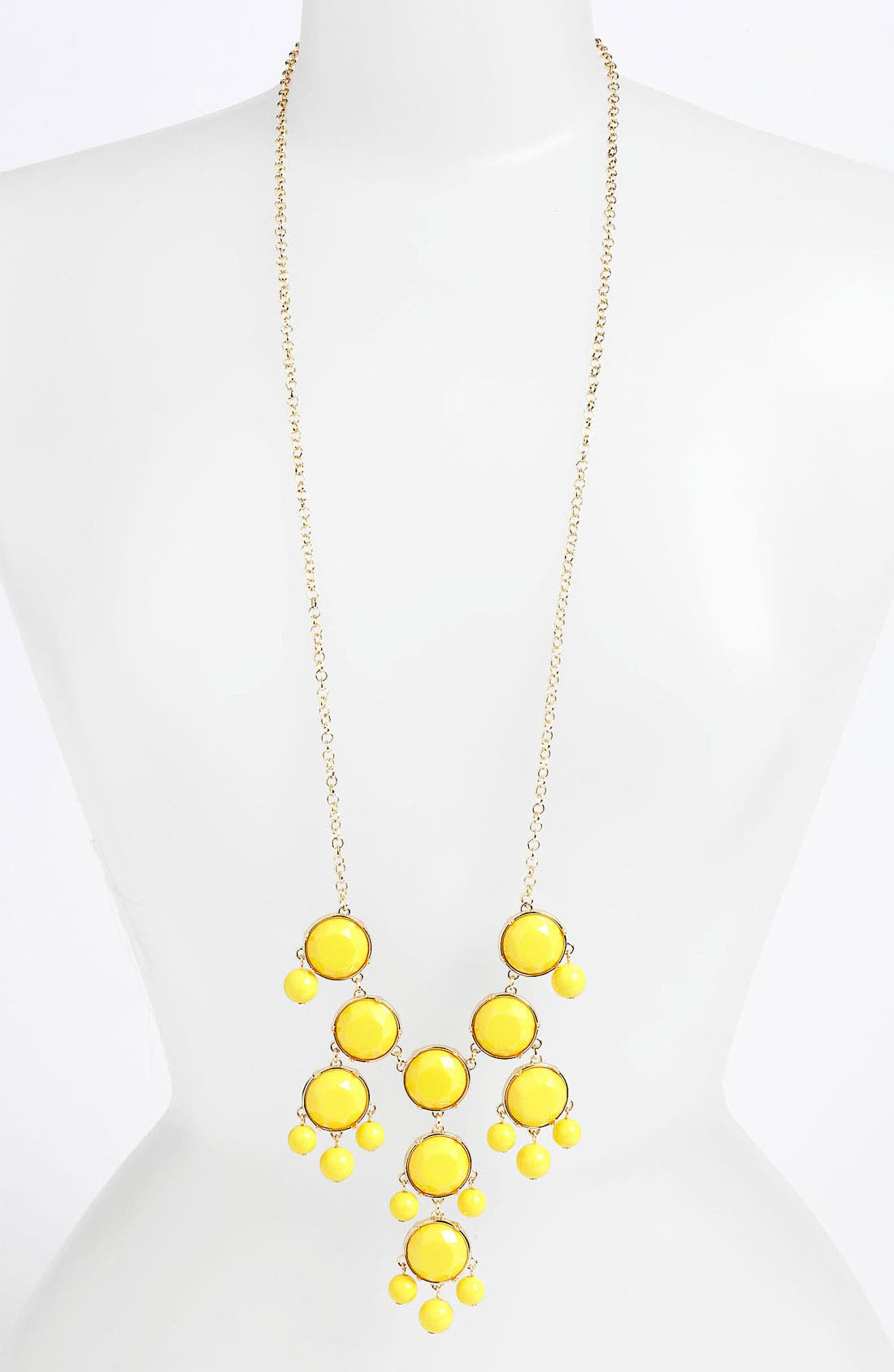 Alternate Image 1 Selected - BP. Sunburst Statement Necklace